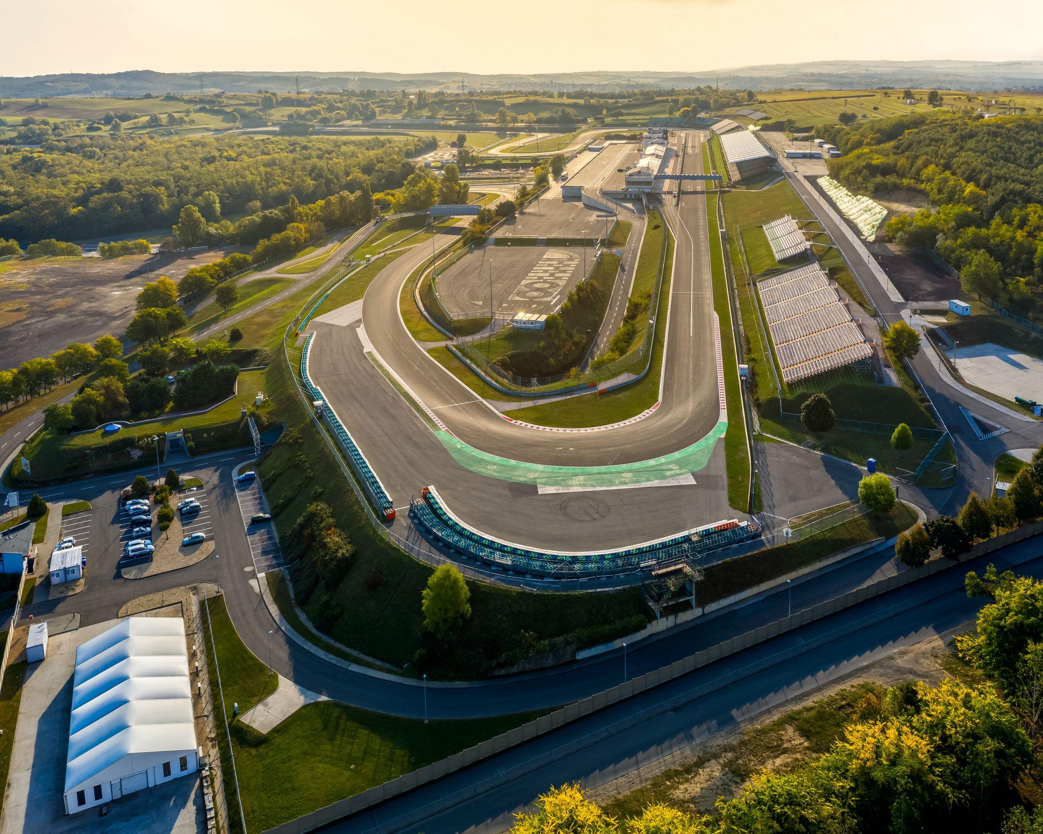 Hungaroring. The Hungarian F1 race track, Hungary