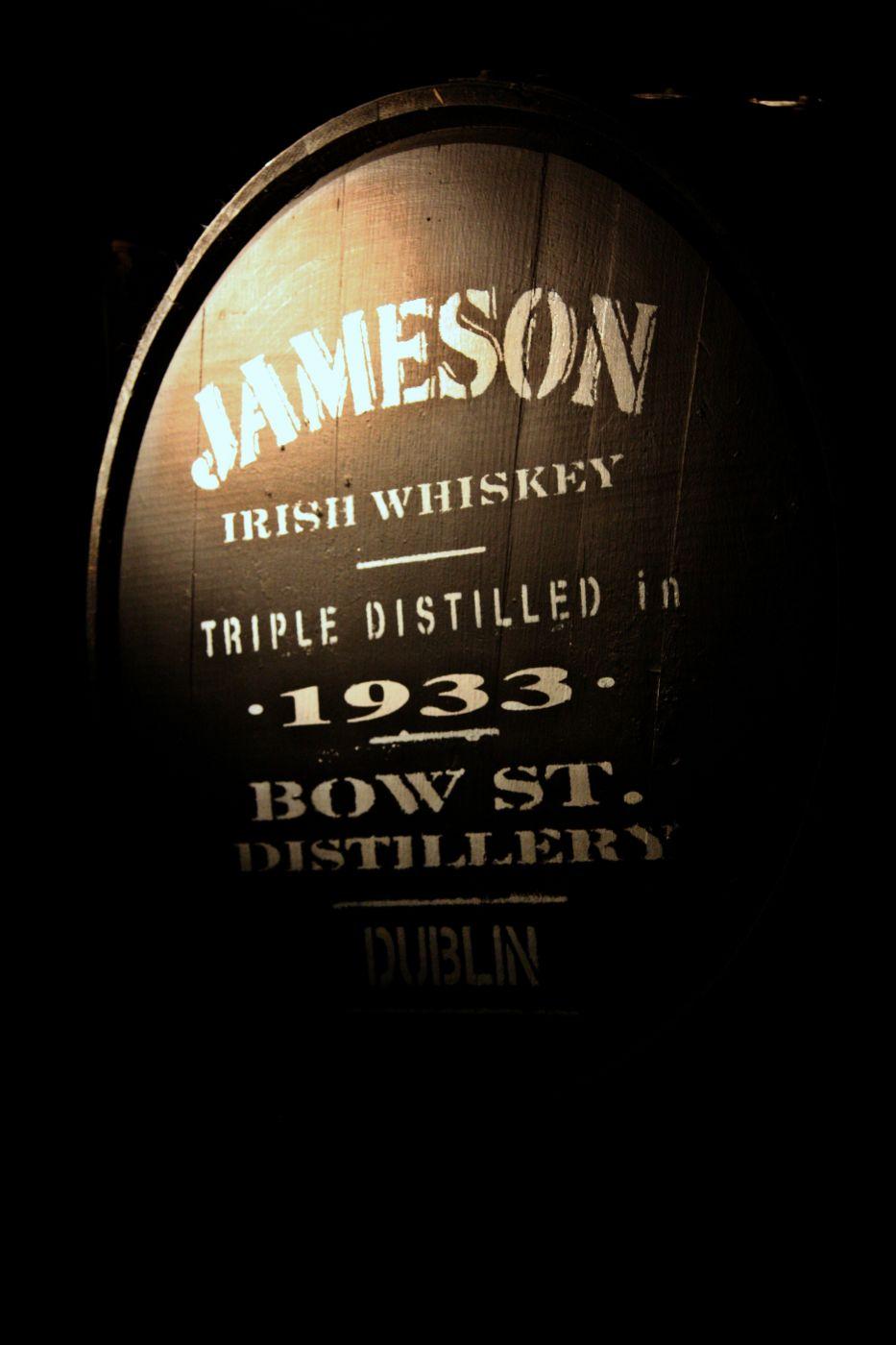 in der Jameson Distillery, Ireland