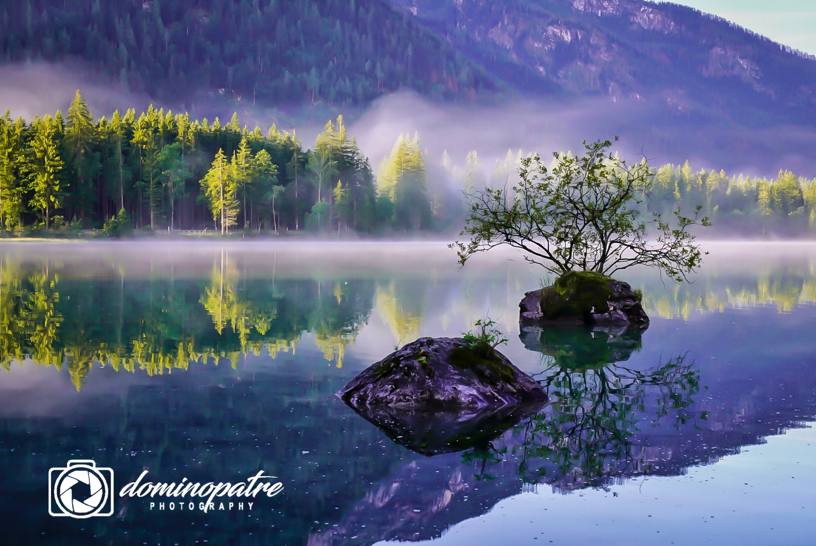 Lake Hintersee, Ramsaul close to Berchtesgaden, Germany