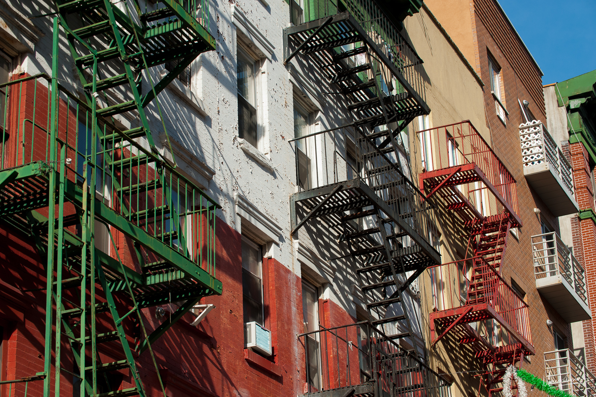 Little Italy stairs, USA