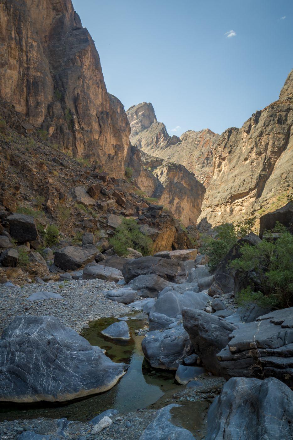little snake wadi in oman, Oman