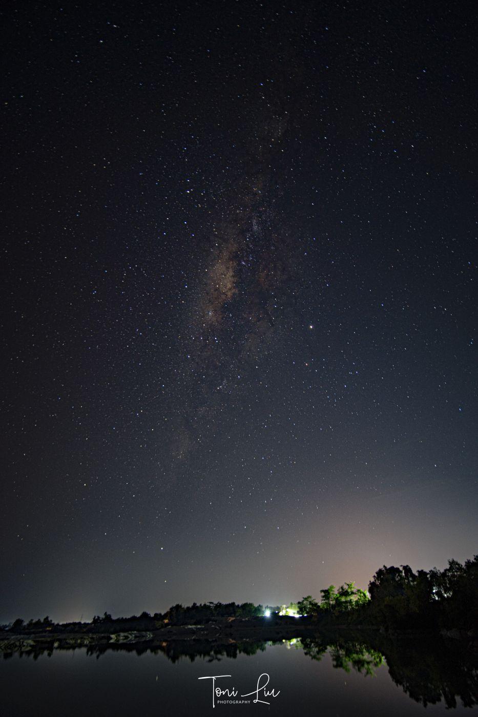 Milky Way Kaolin Lake, Indonesia