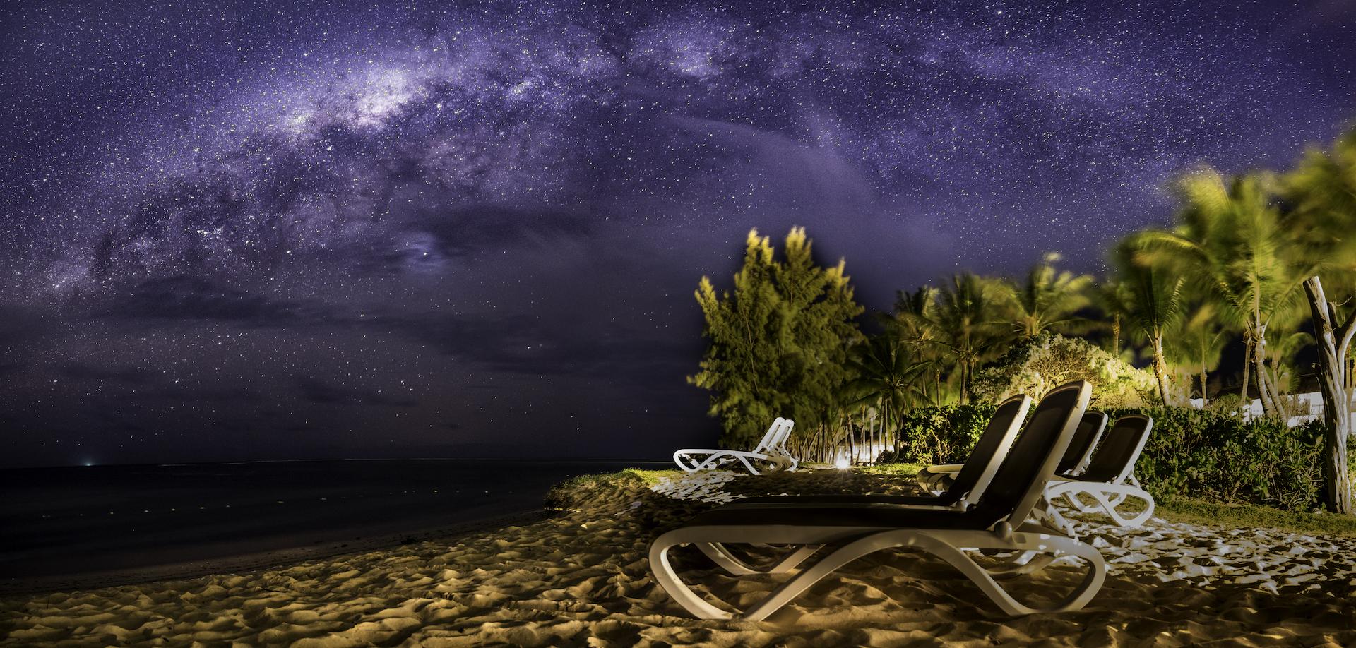 Milky Way, Mauritius