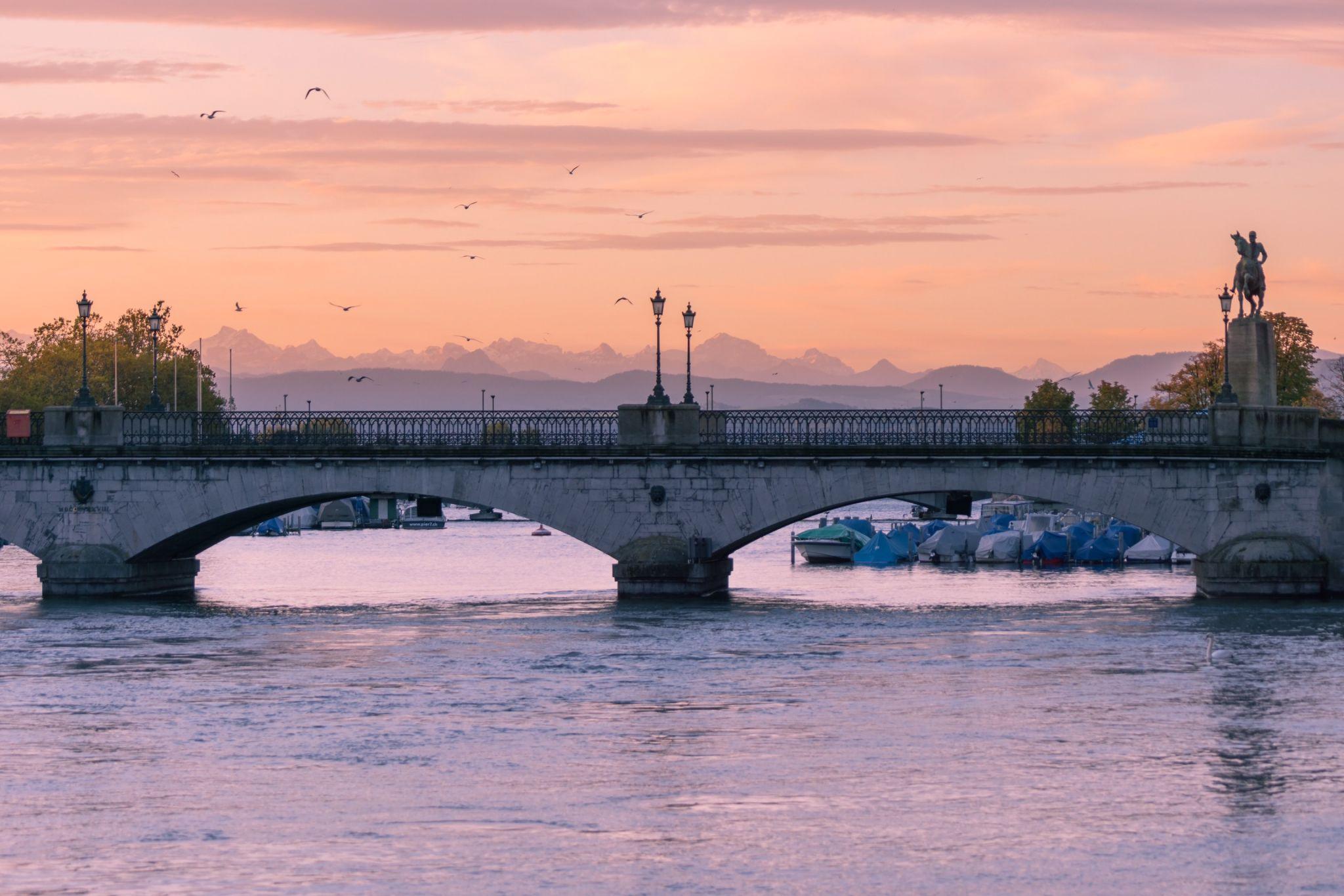 Münsterbrücke, Switzerland