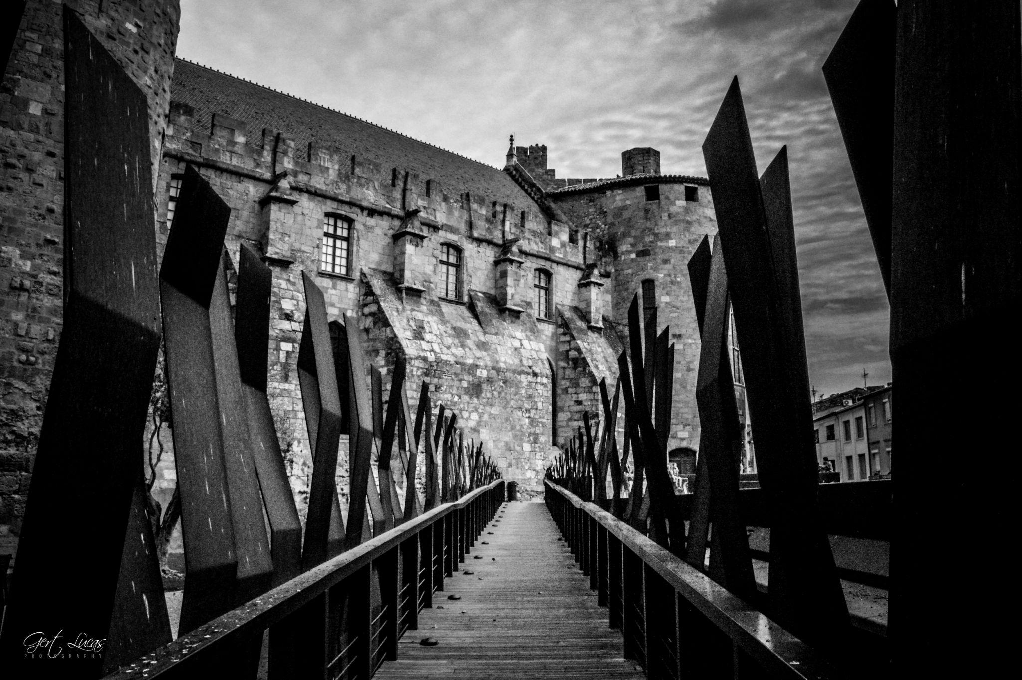 Narbonne - Palais des Archeveques - Gardens, France