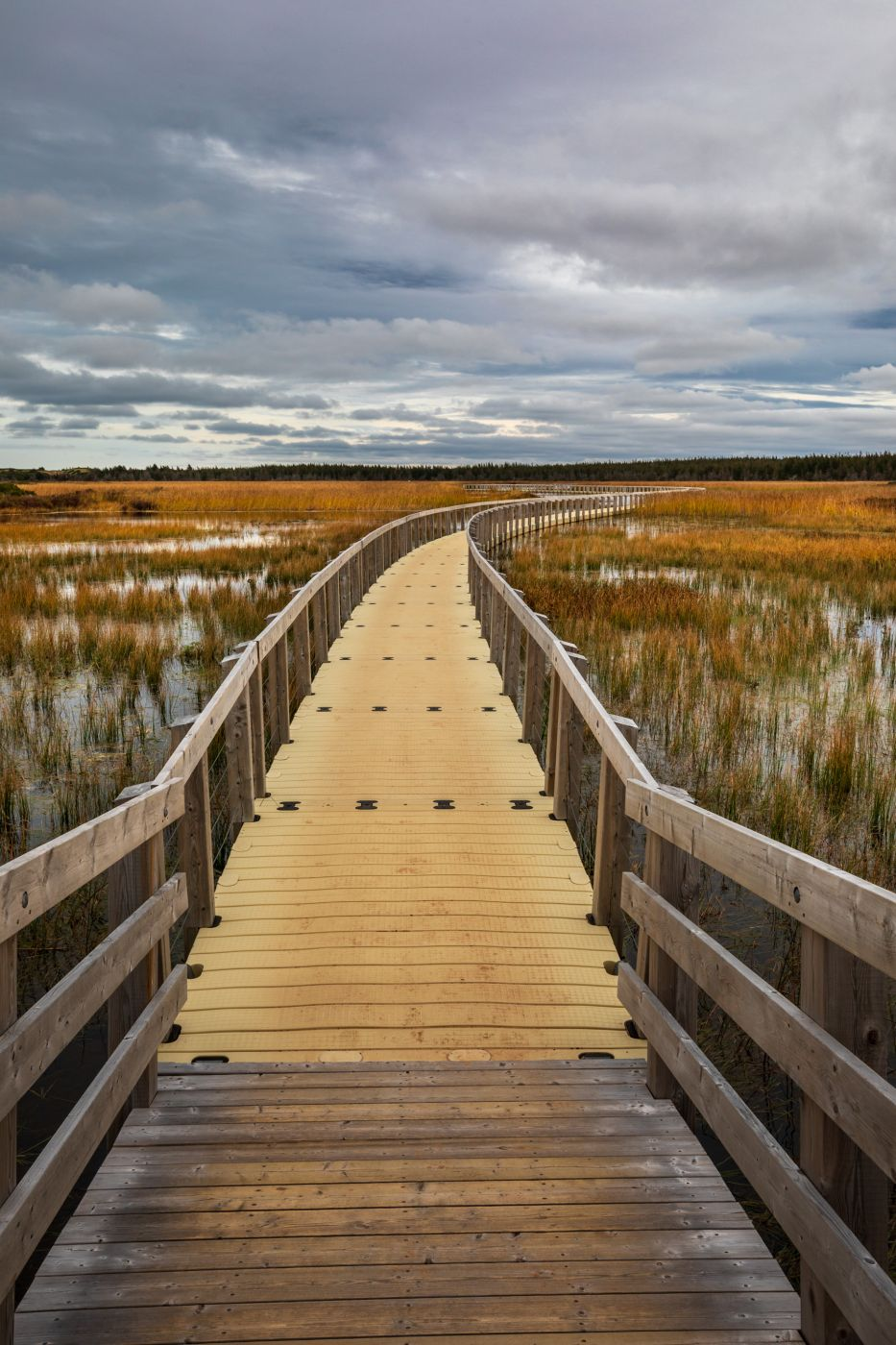 National Park Greenwich Floating Bridge Prince Edward Island, Canada