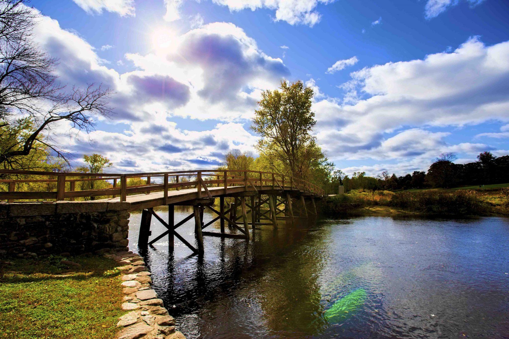 Old North Bridge, USA
