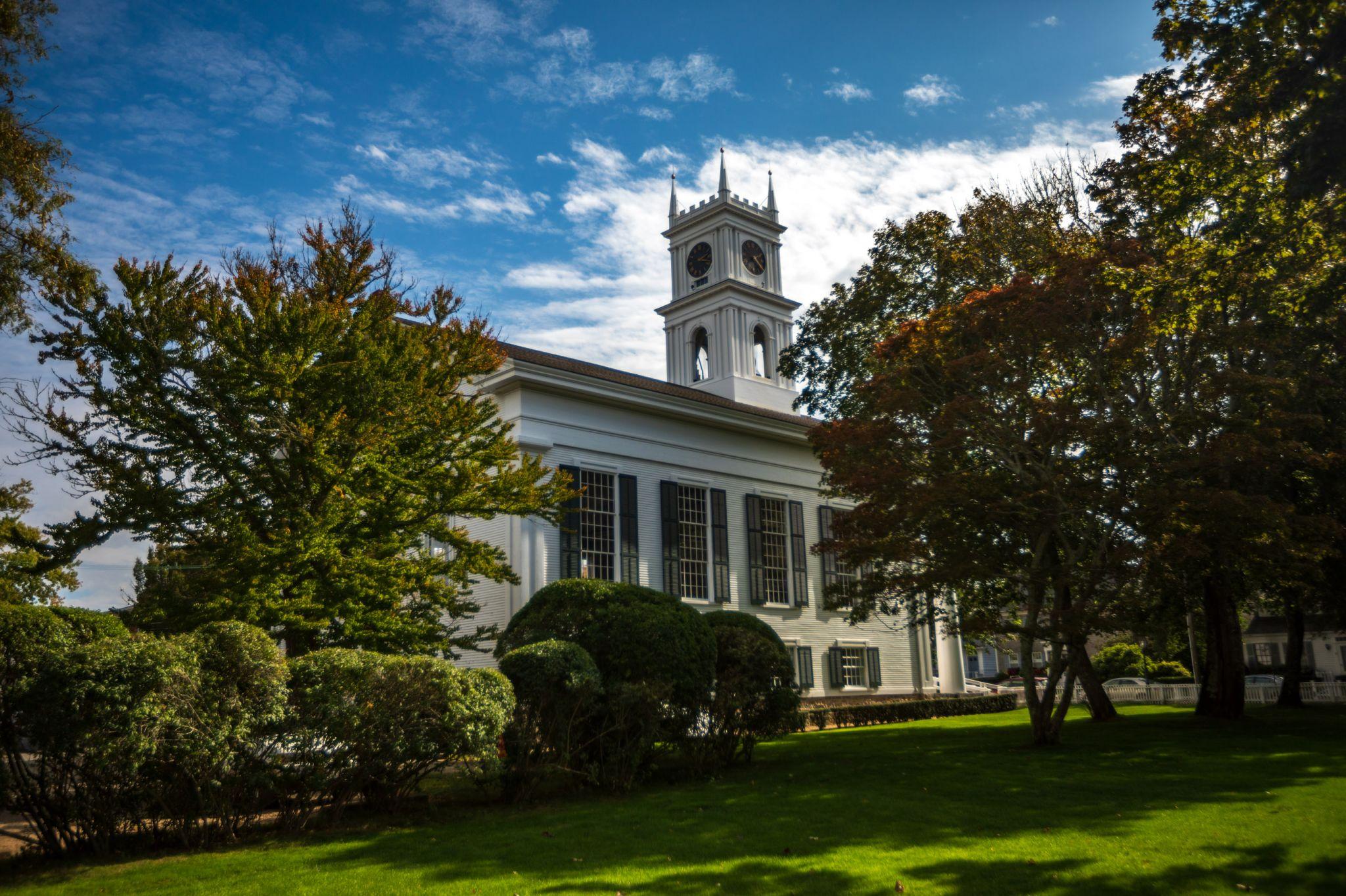 Old Whaling Church, Edgartown, Martha's Vineyard, USA