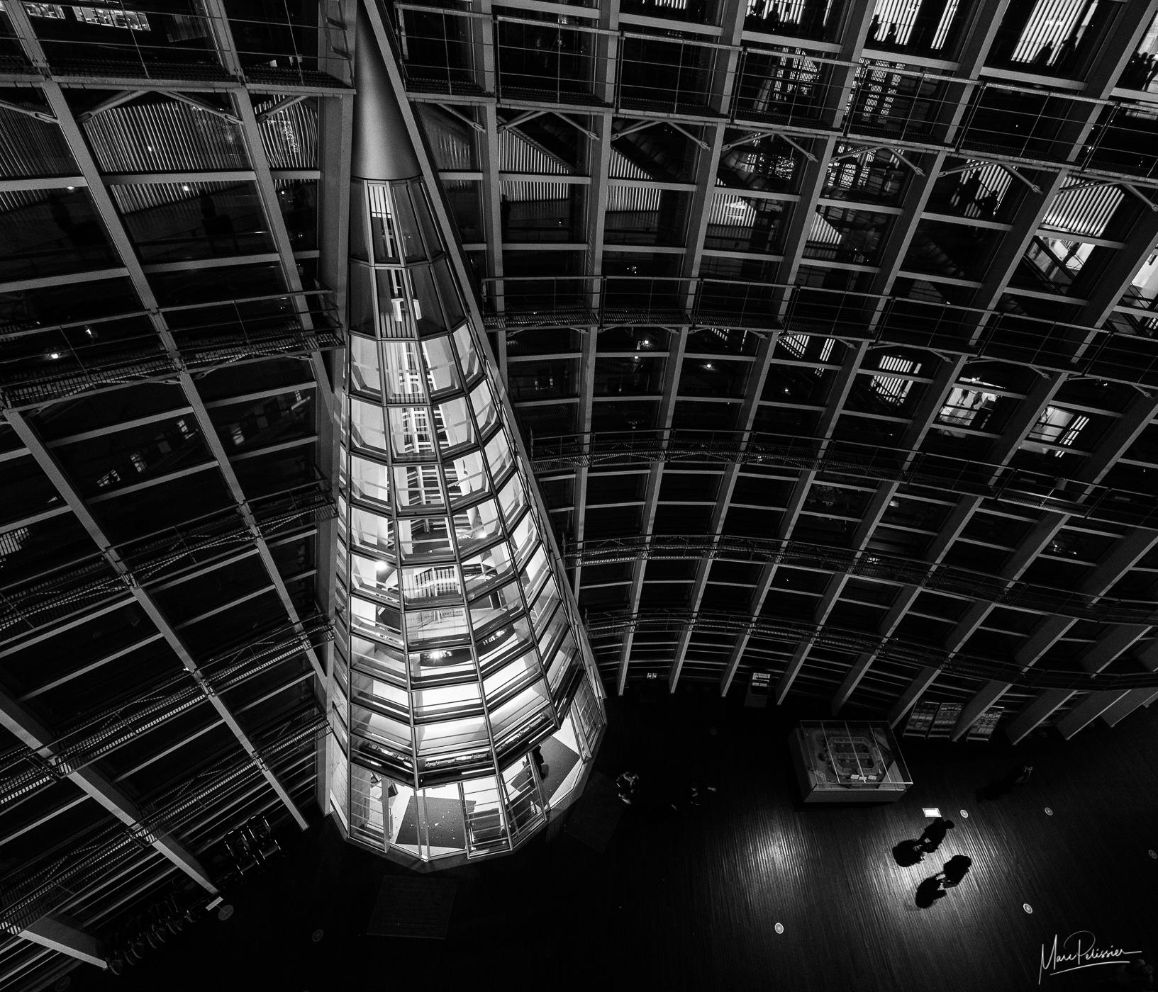National art center peak architecture, Japan