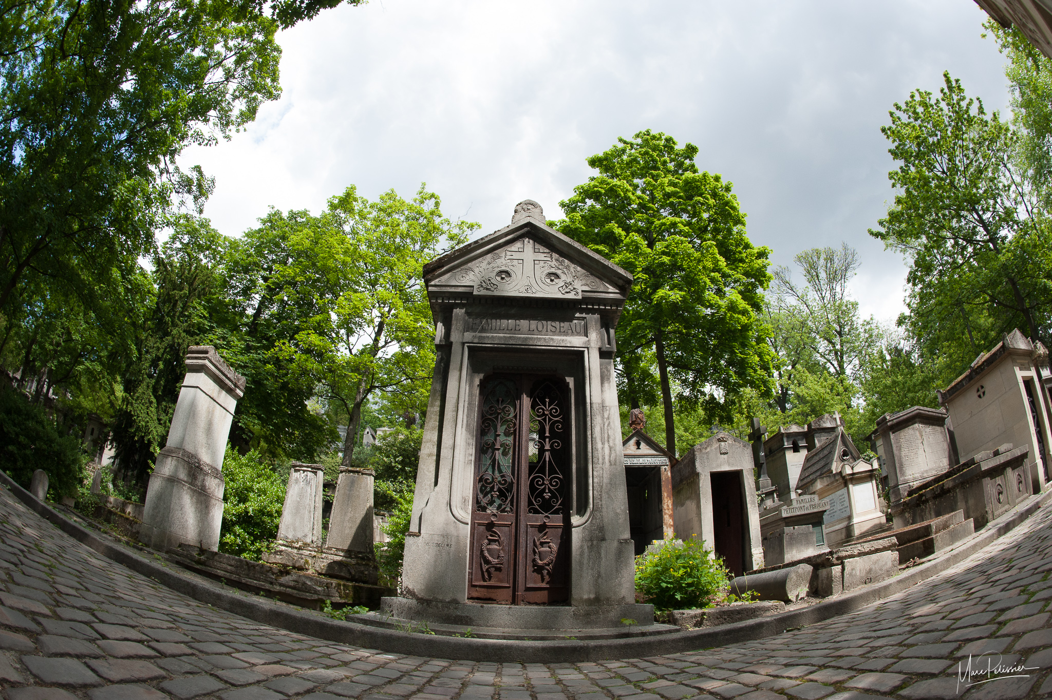 Pere Lachaise cemetery, France