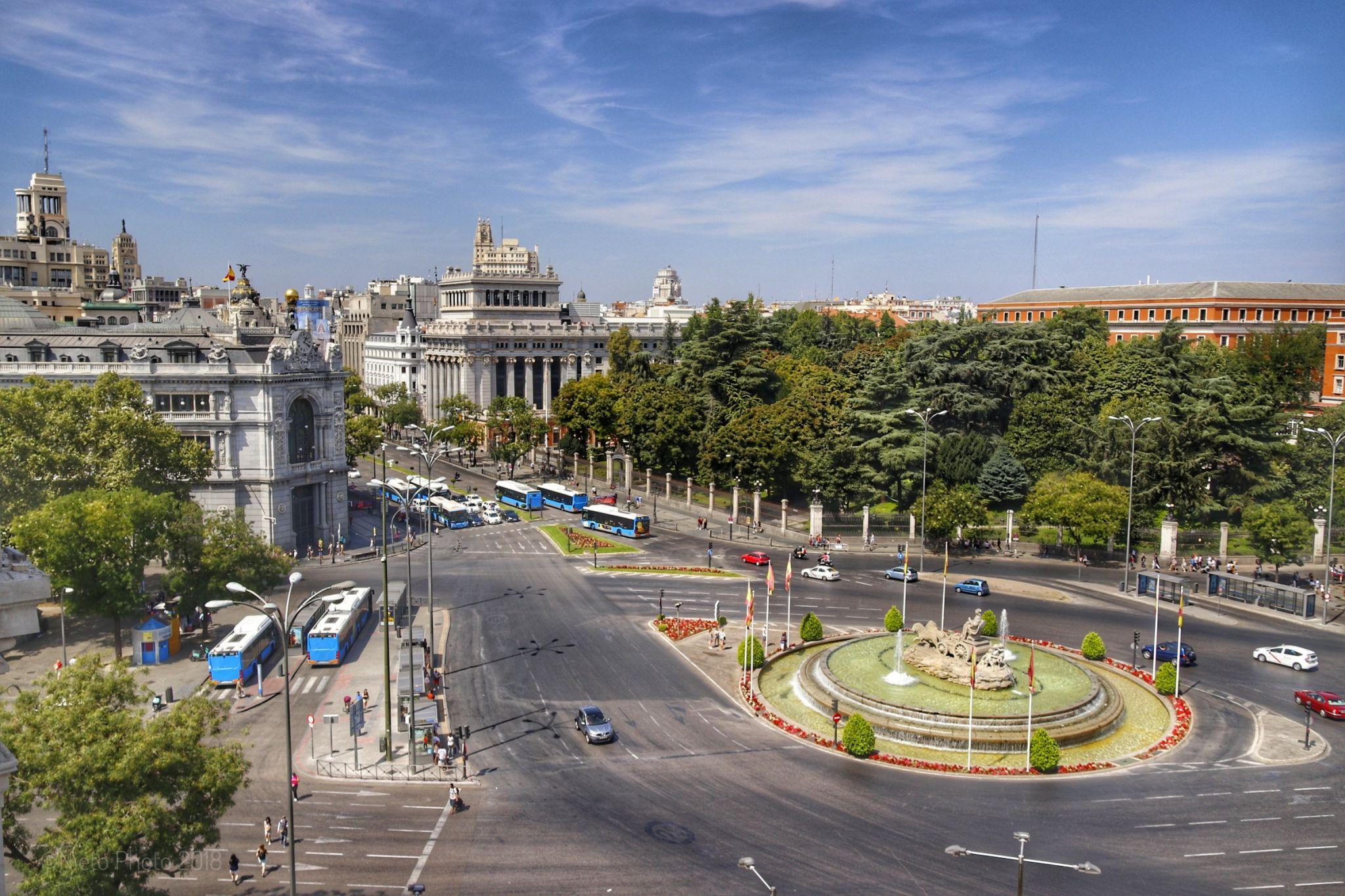 Plaza de Cibeles, Spain