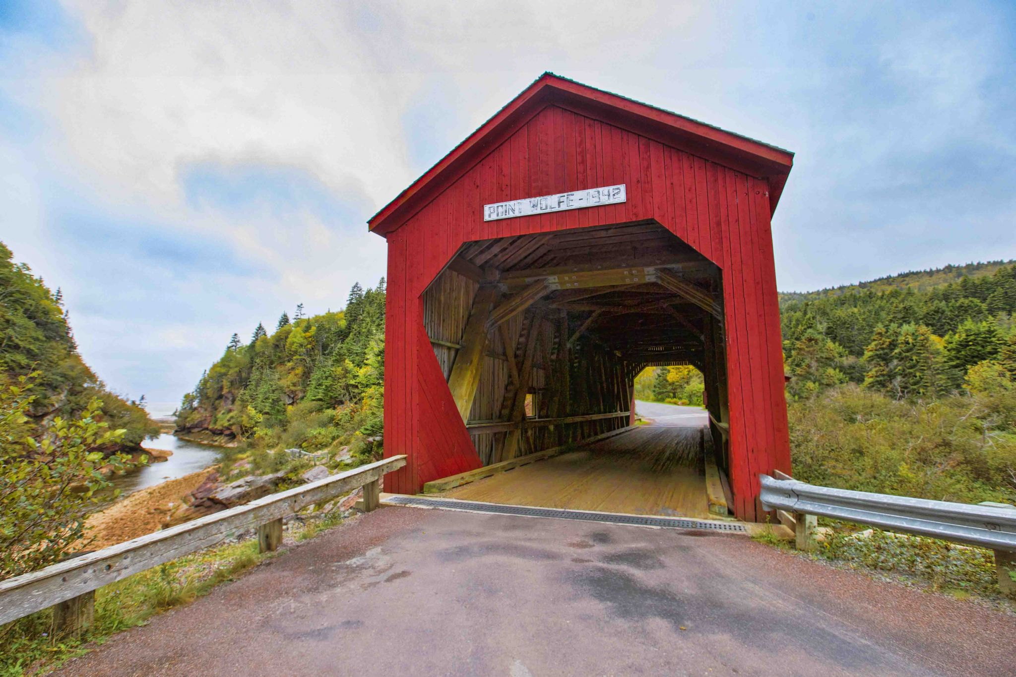 Point Wolfe Covered Bridge, Canada