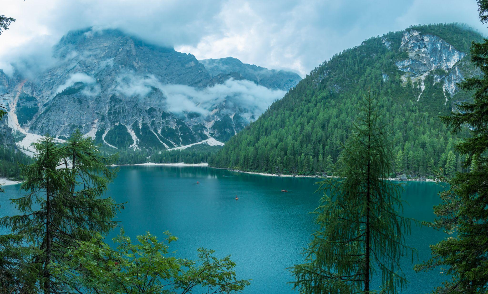 Pragser Wildsee / Lago di Braies, Italy