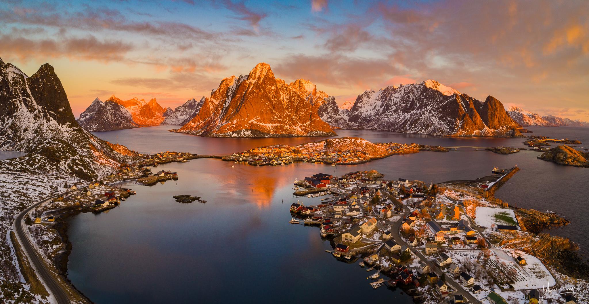 Reine Aerial, Norway