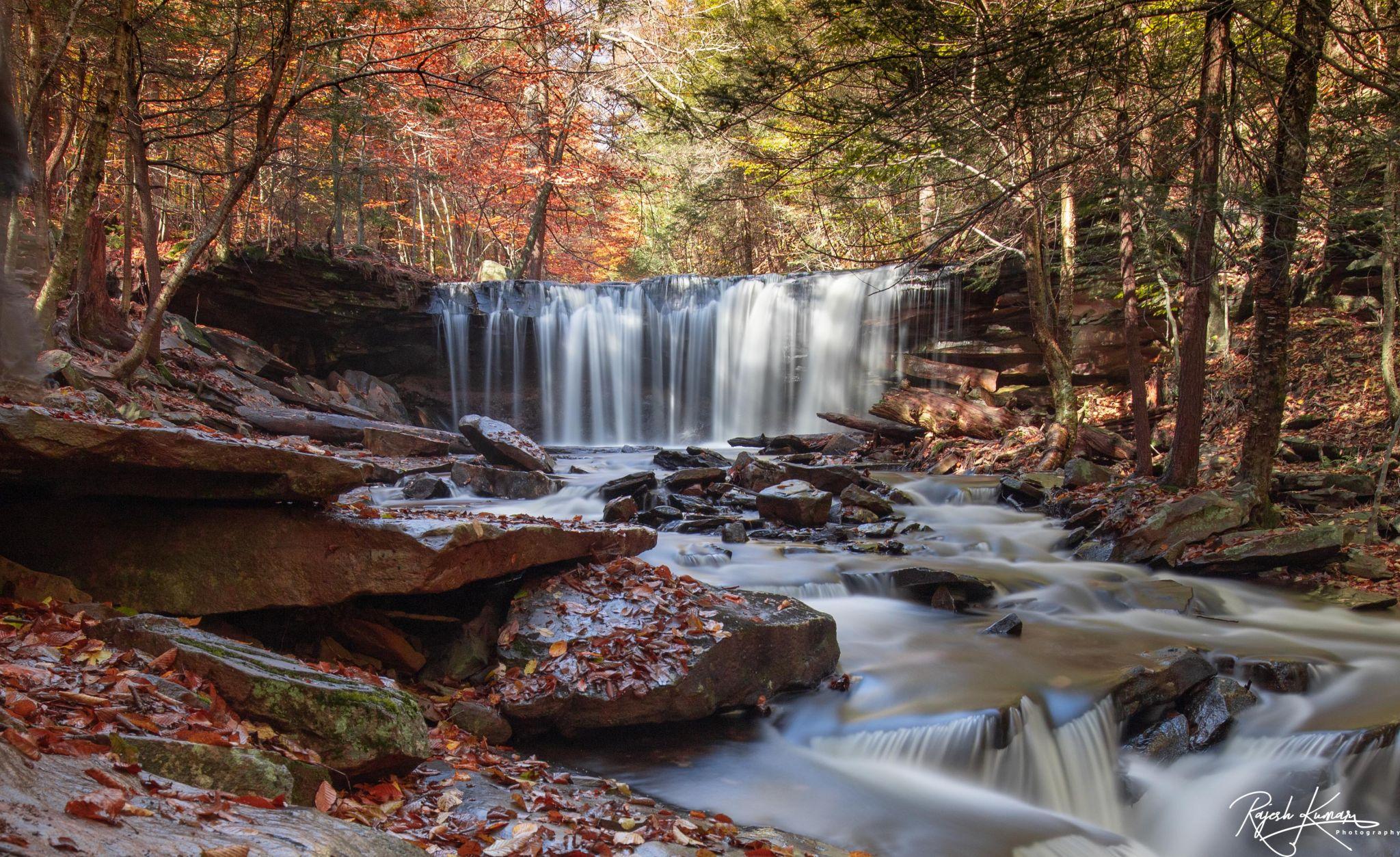 Rickets Glen State Park, Pennslyvania, USA