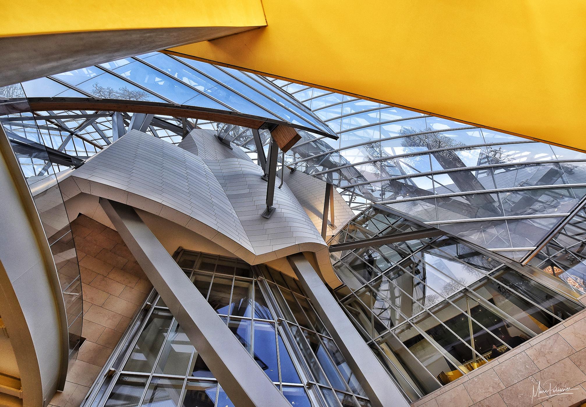 Roof top Louis Vuitton Fondation, France