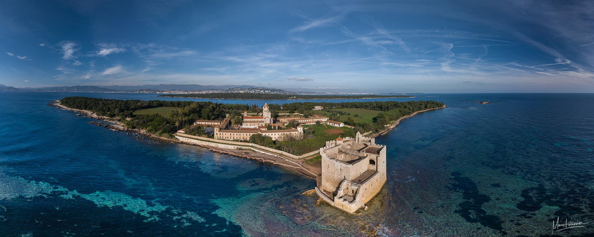 Saint Honorat fortress, Lerins Island, France