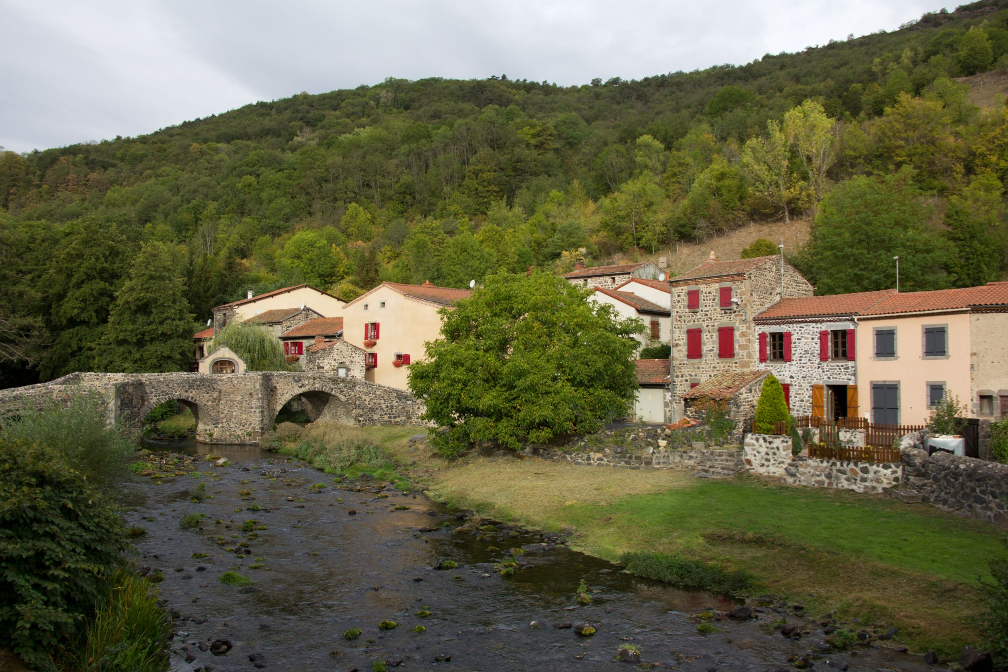 Saurier (old bridge), France