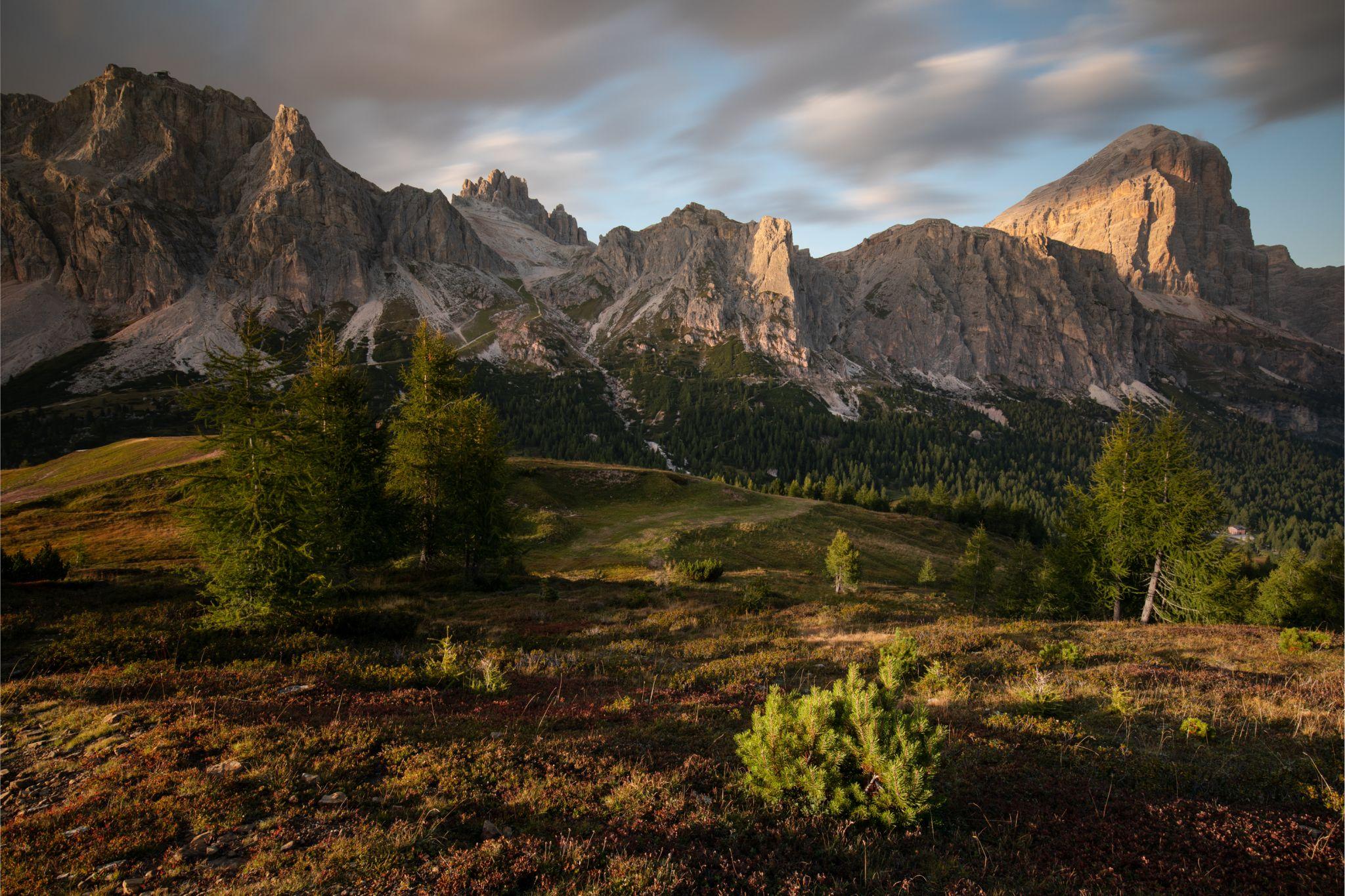 September in Dolomities, Italy