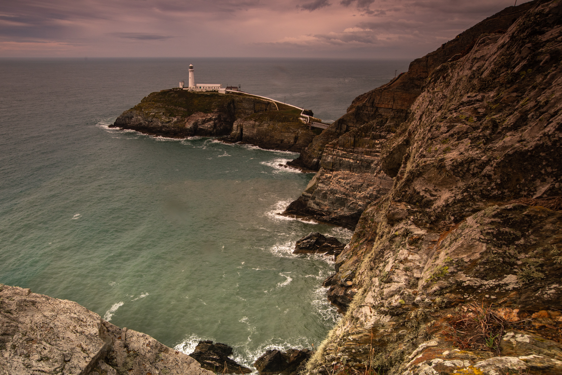 South Stack Lighthouse Wales, United Kingdom