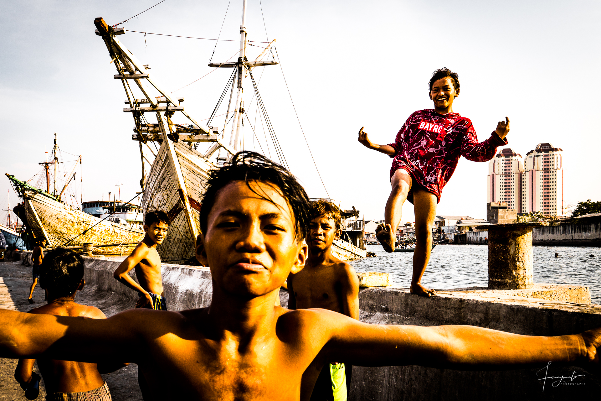 Sunda Kelapa Harbor Dock, Indonesia