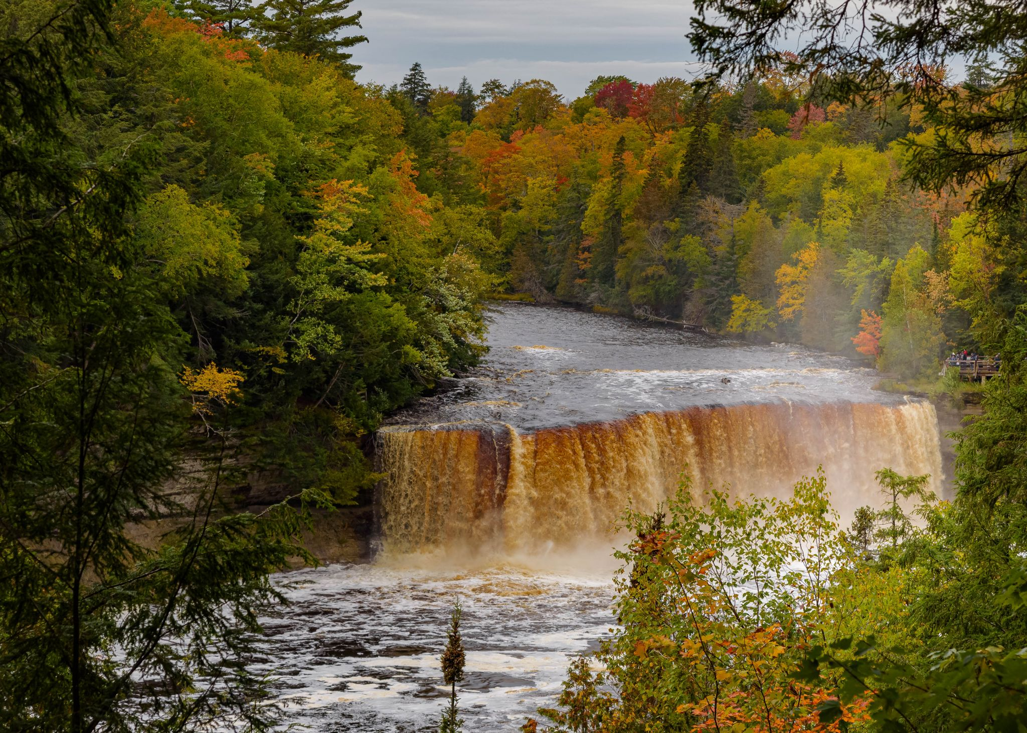 Tahquamenon Upper Falls, USA