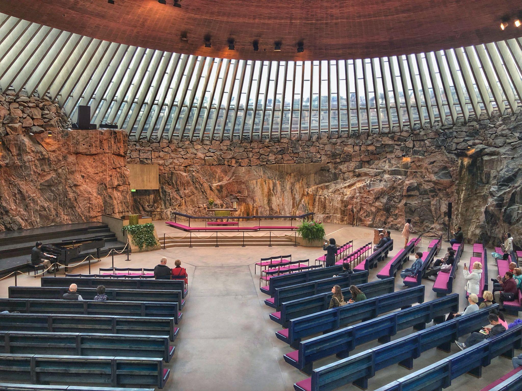 Temppeliaukio Rock Church, Finland