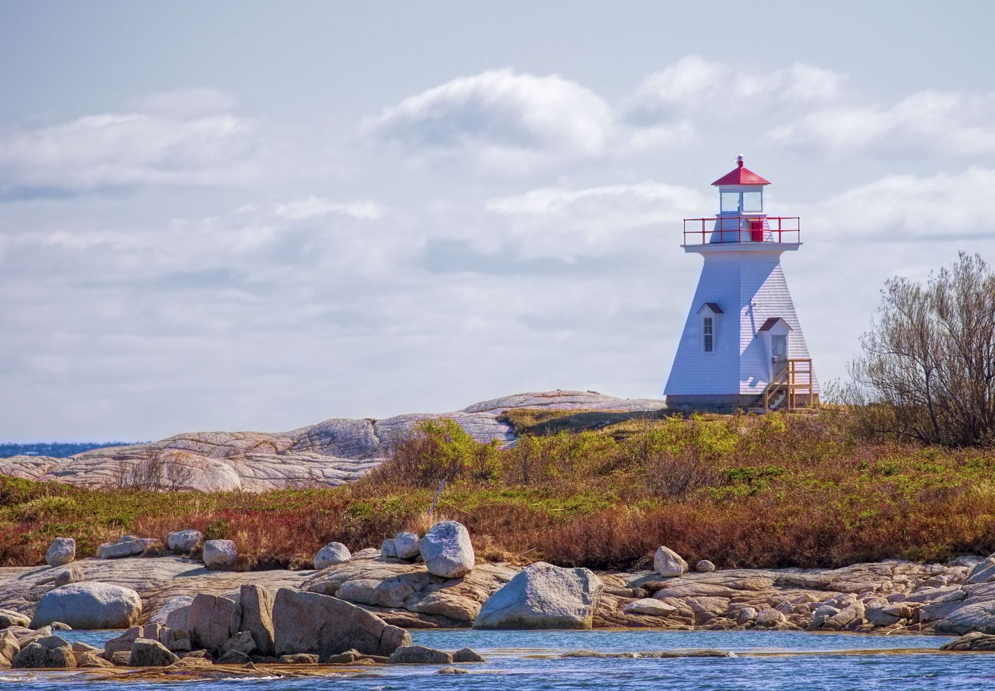 Terence Bay Lighthouse, Canada