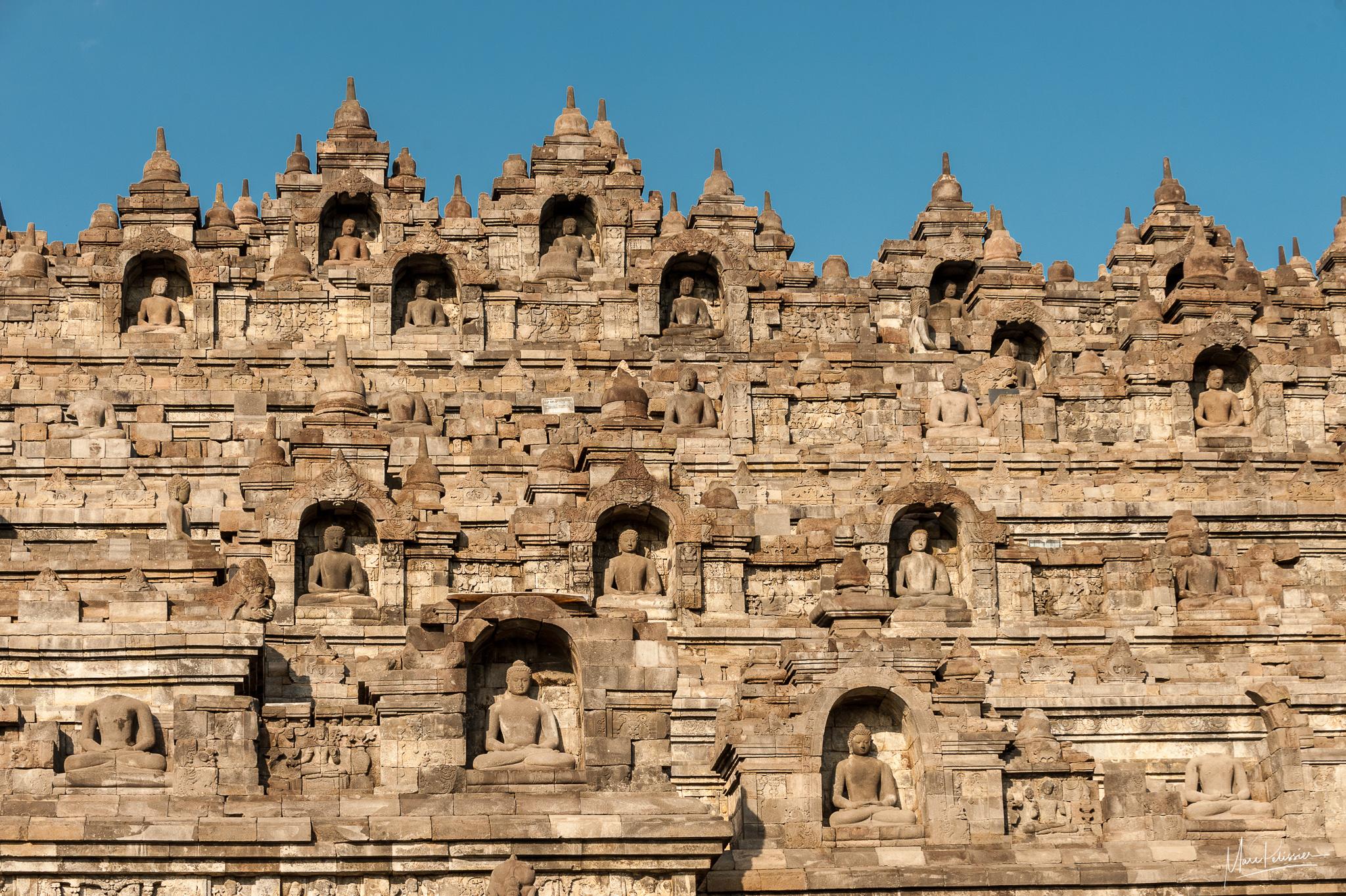 The Buddha pyramid, Indonesia
