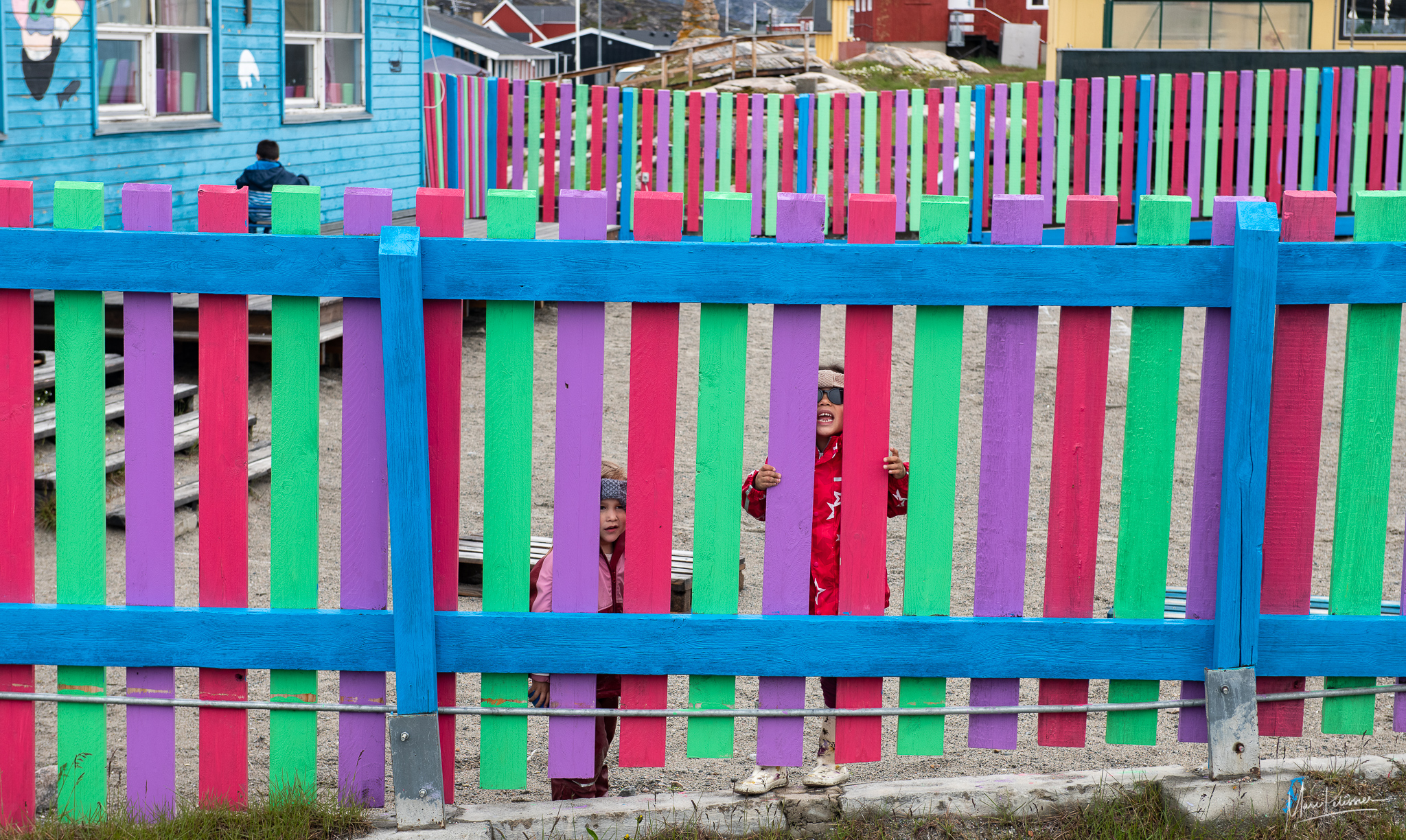 The colored school, Greenland