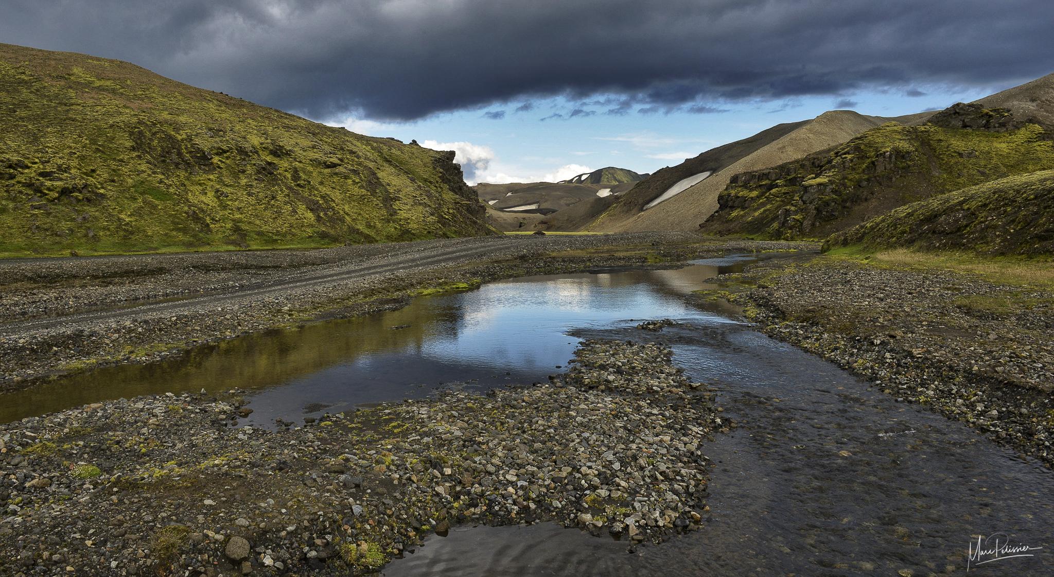 The east Landmannalaugar track, Iceland