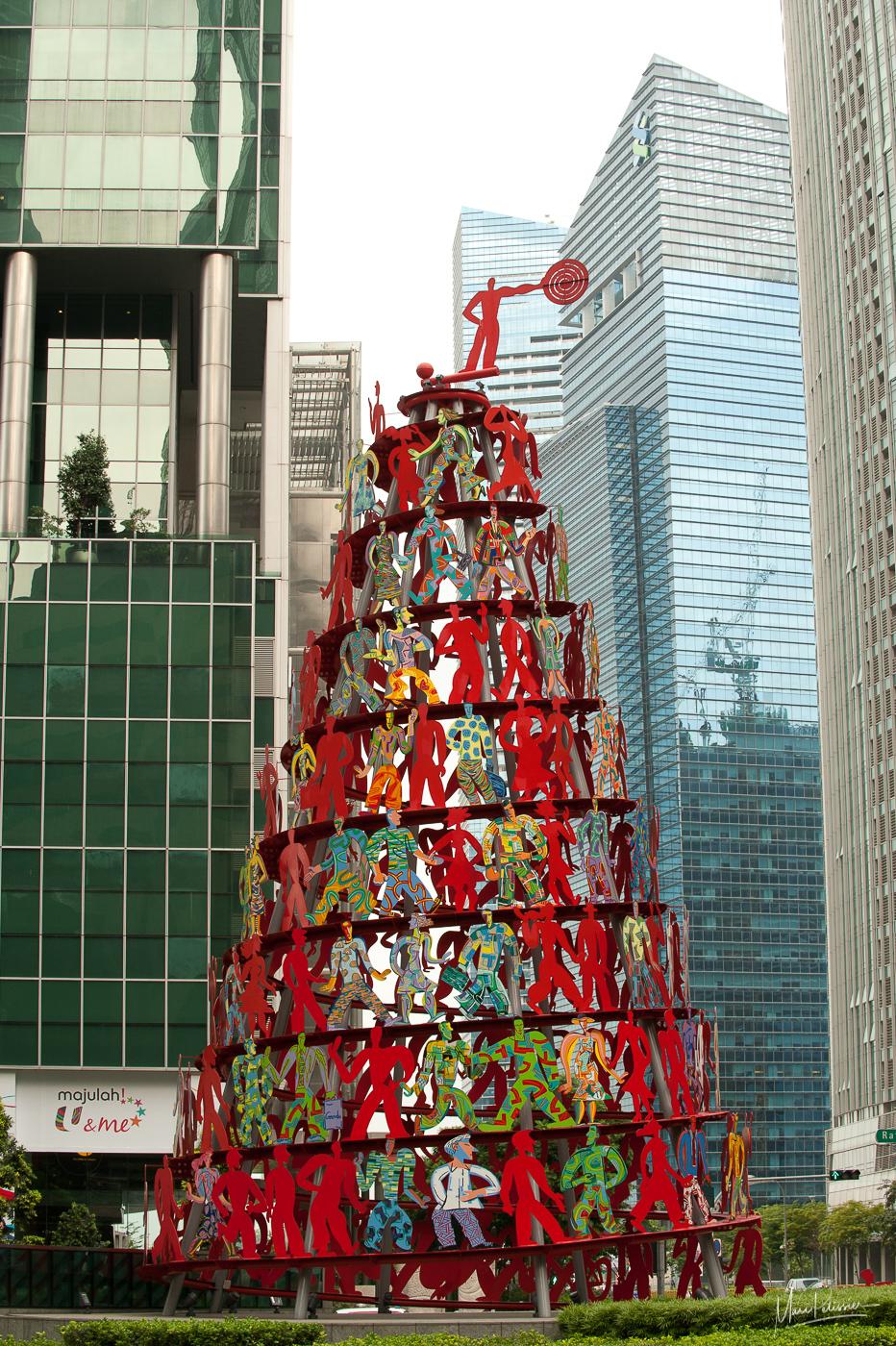 The people pyramid, Singapore