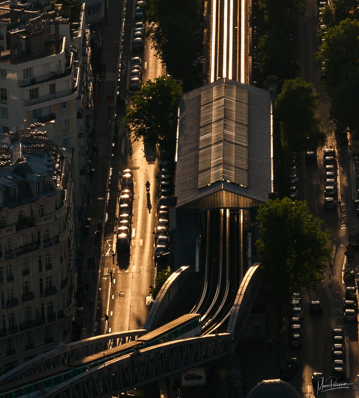 Top of Tour Montparnasse -Paris, France
