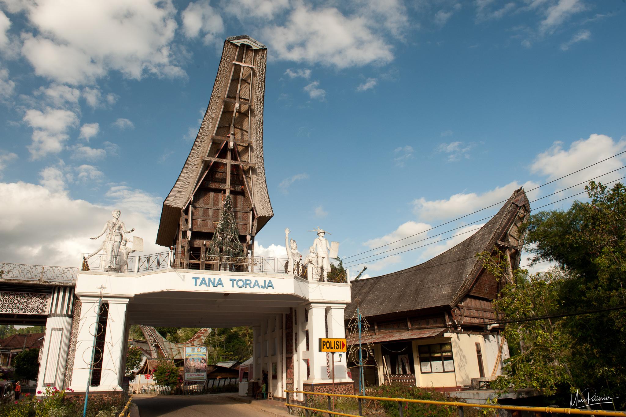 Torajo entrance, Indonesia