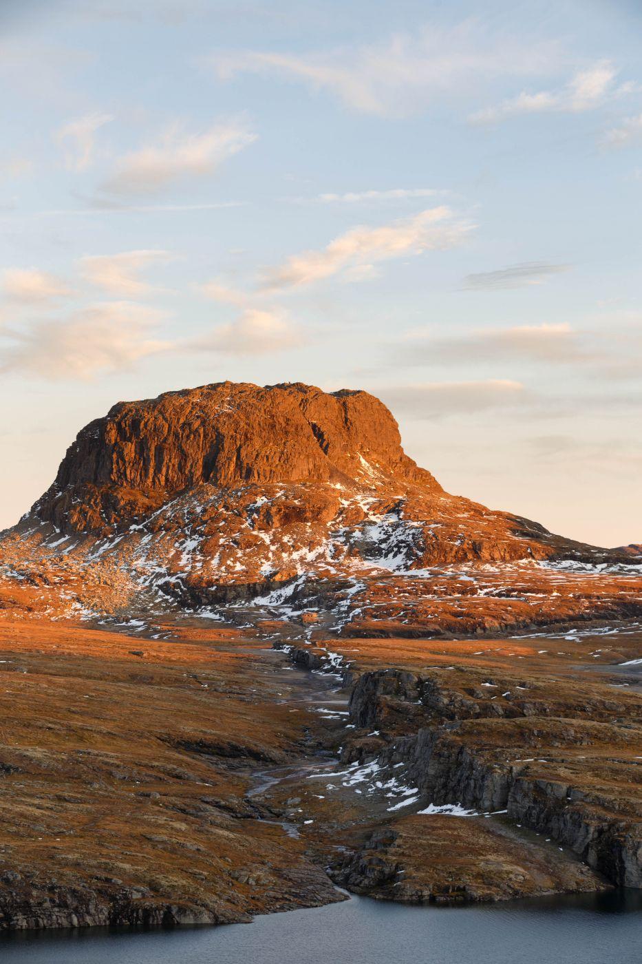 Harteigen from Torehytten (Hills), Norway