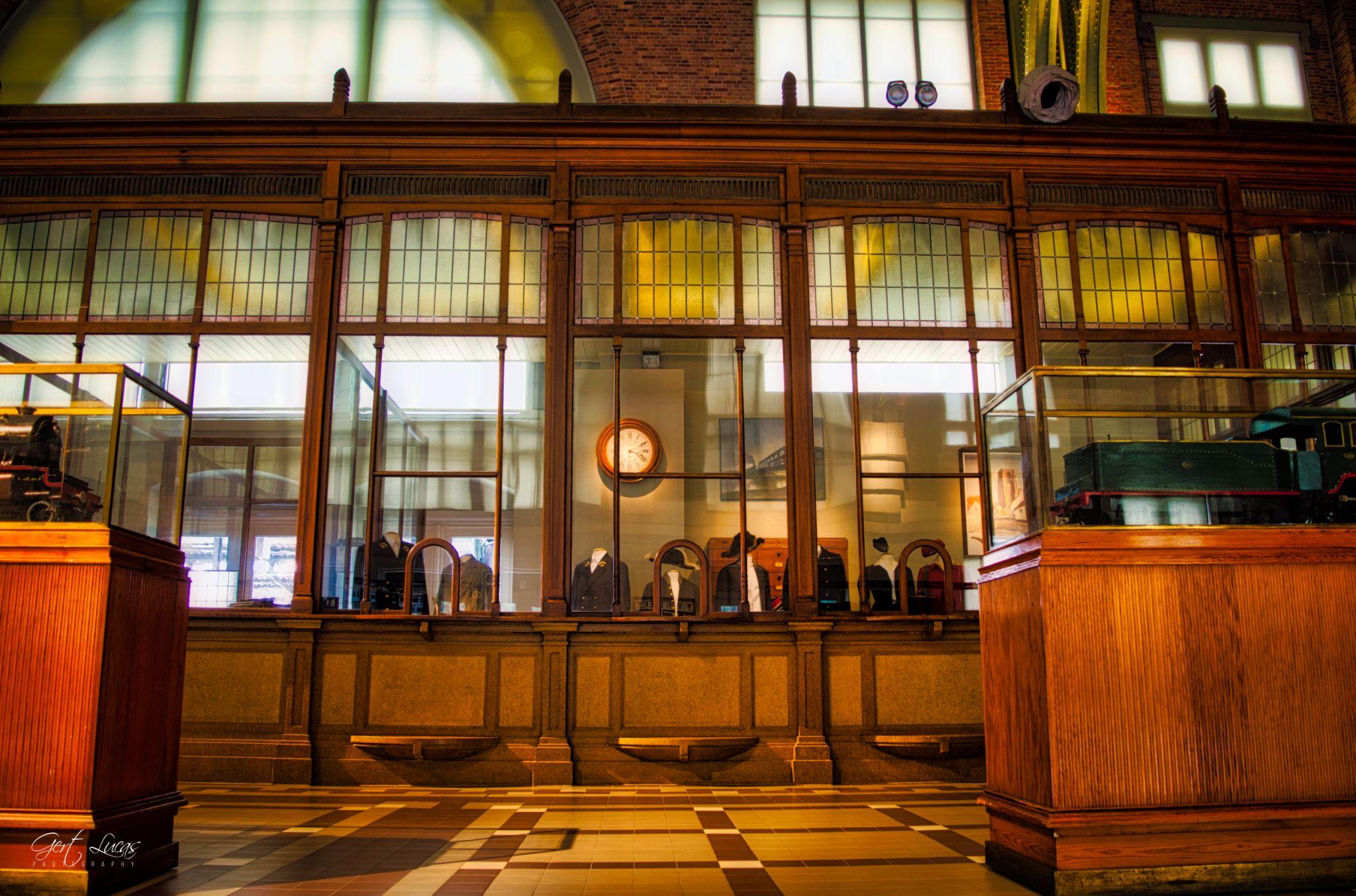 Trainworld - old counter hall, Belgium