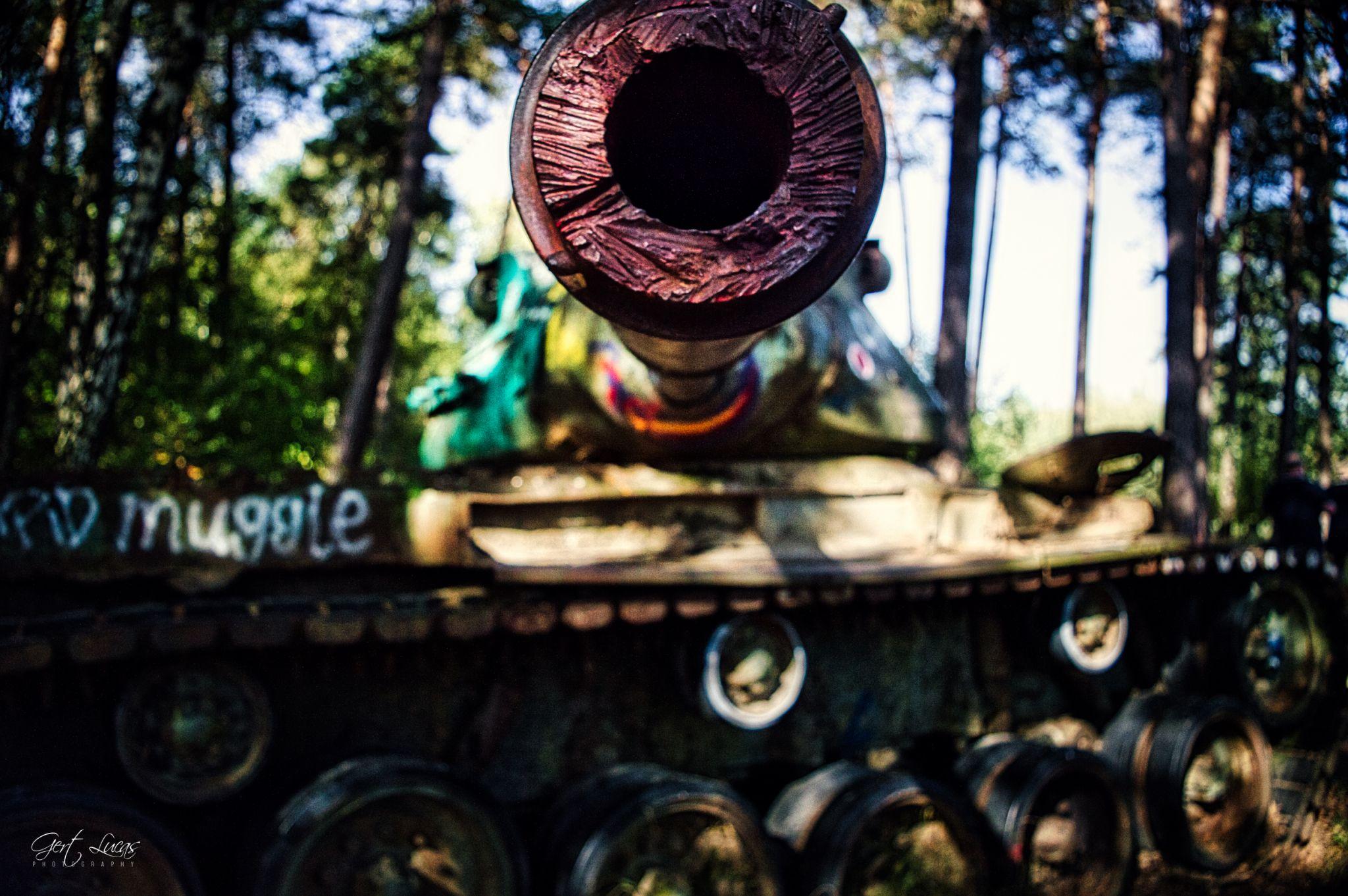US Tank in Branderwald, Germany