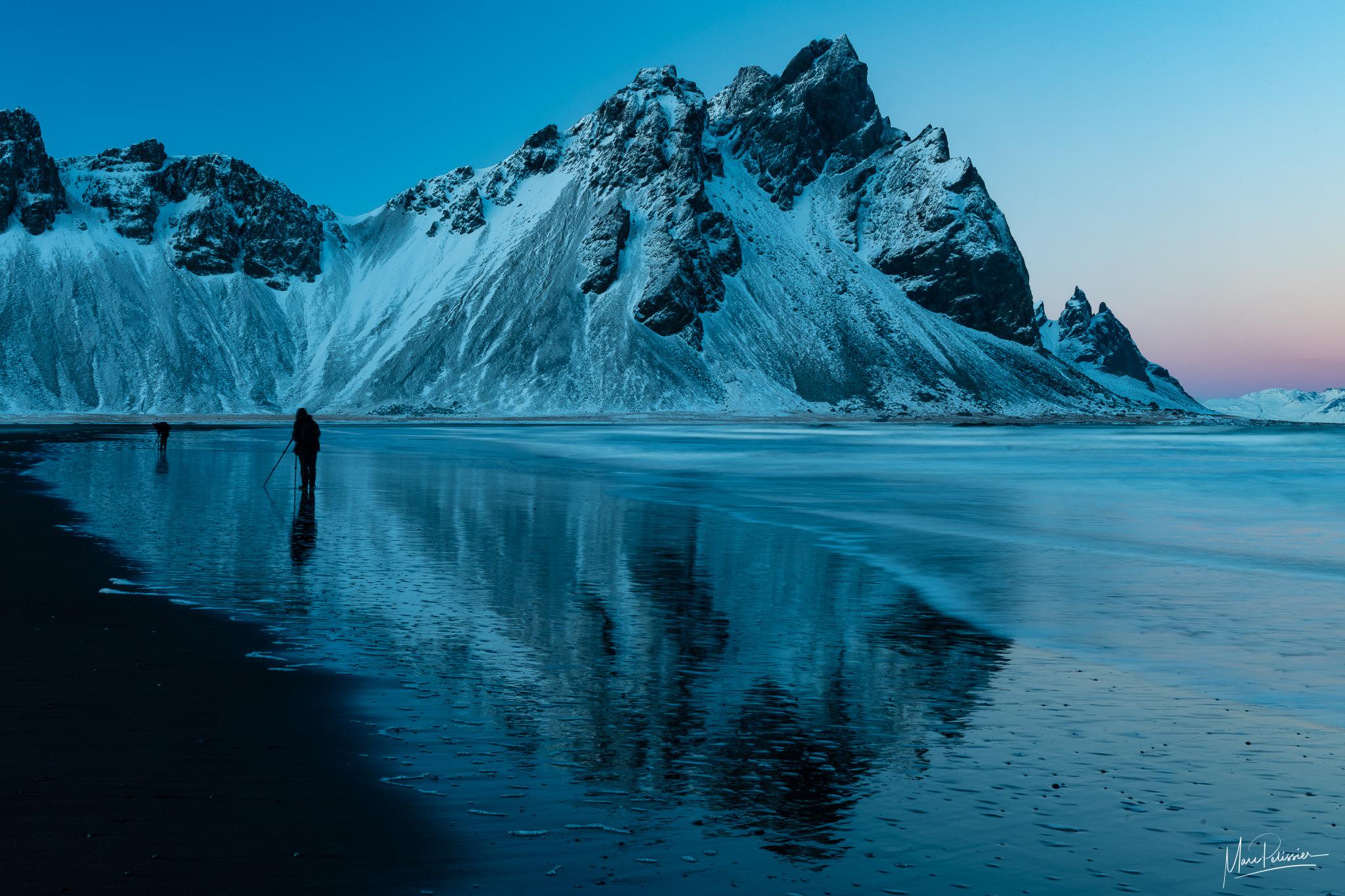 Vestrahorn mirror beach, Iceland