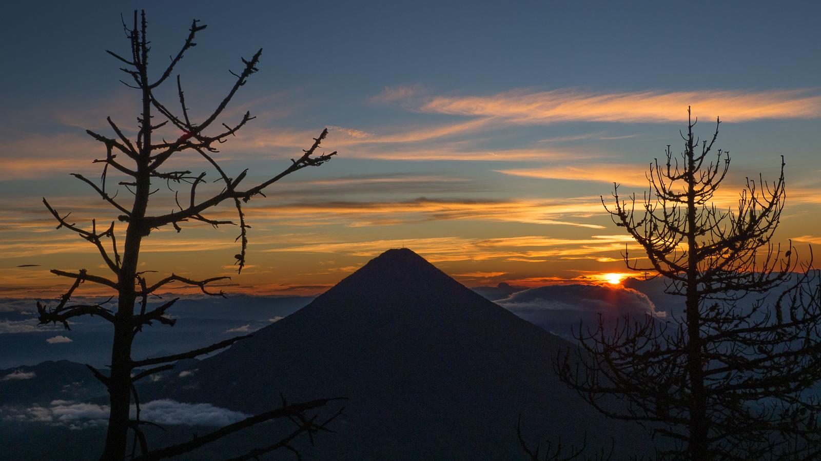 Volcán de agua, Guatemala