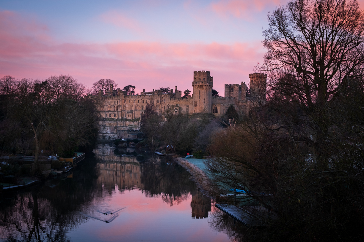 Warwick Castle viewpoint, United Kingdom