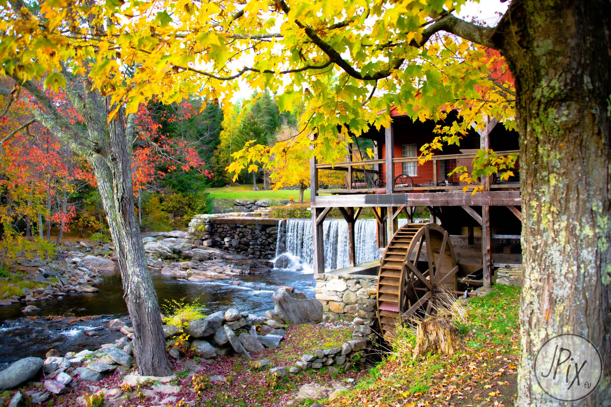 Watermill in Vermont, USA