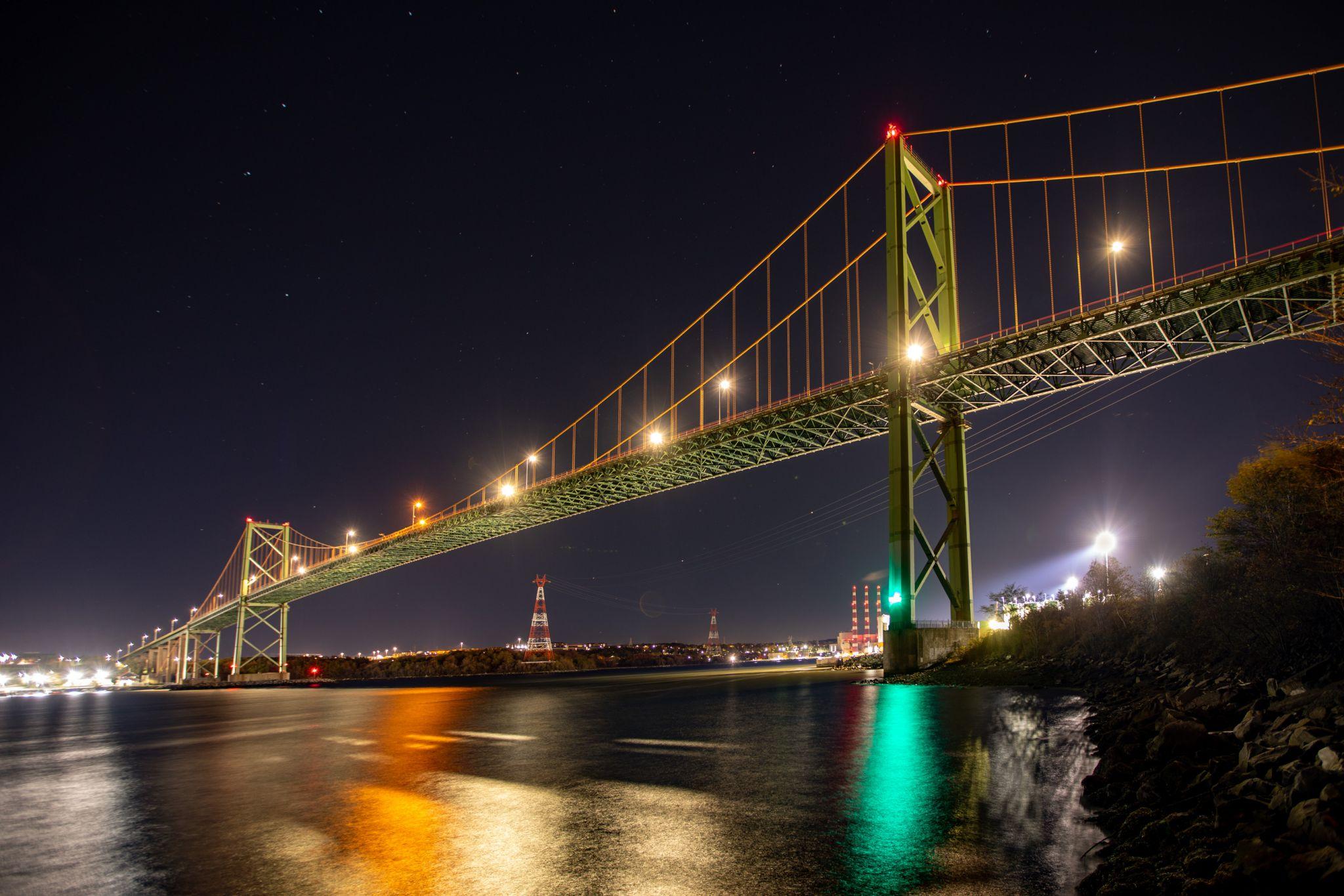 A. Murray MacKay Bridge Halifax, Nova Scotia, Canada