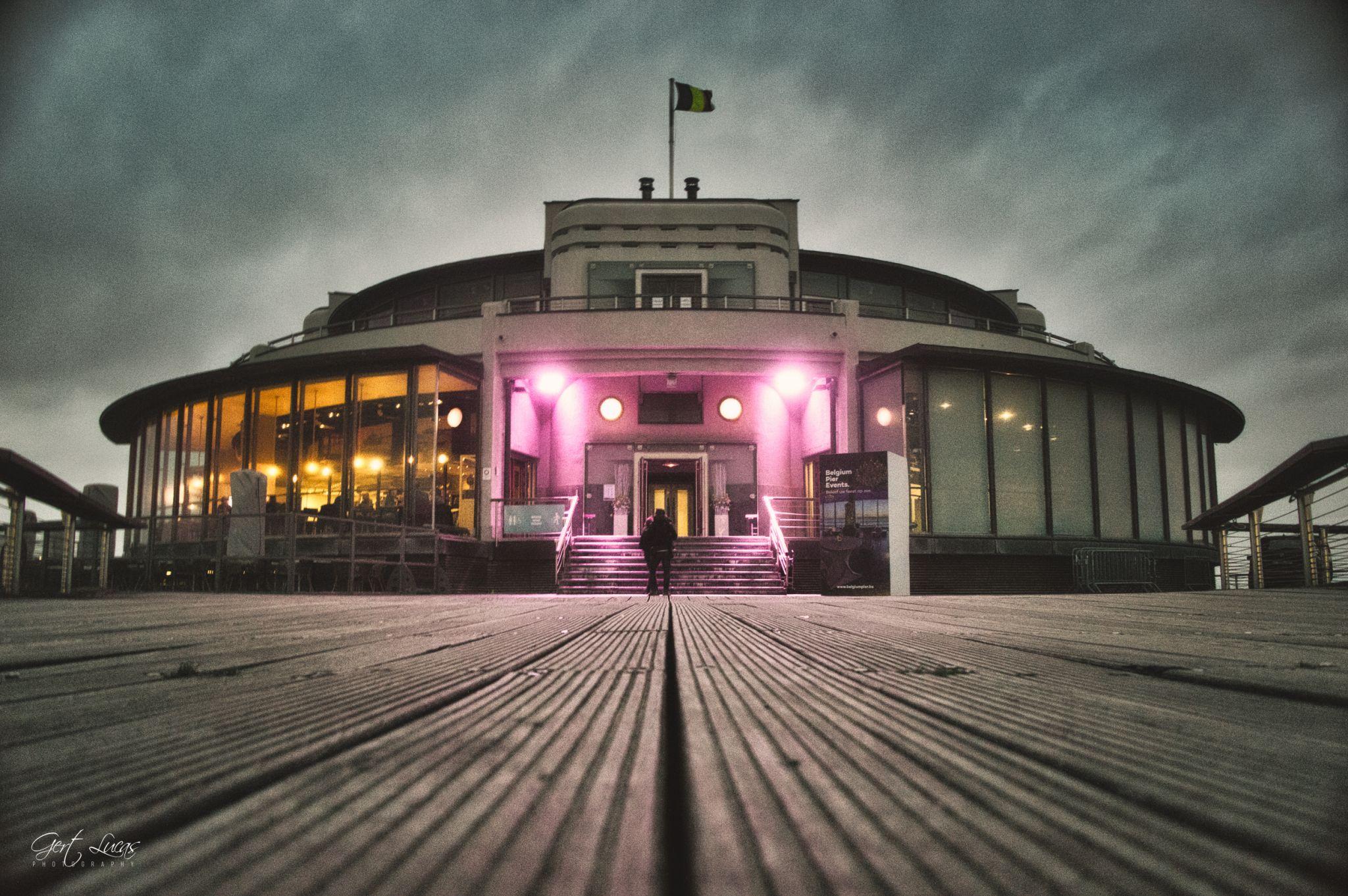 Blankenberge Pier, Belgium