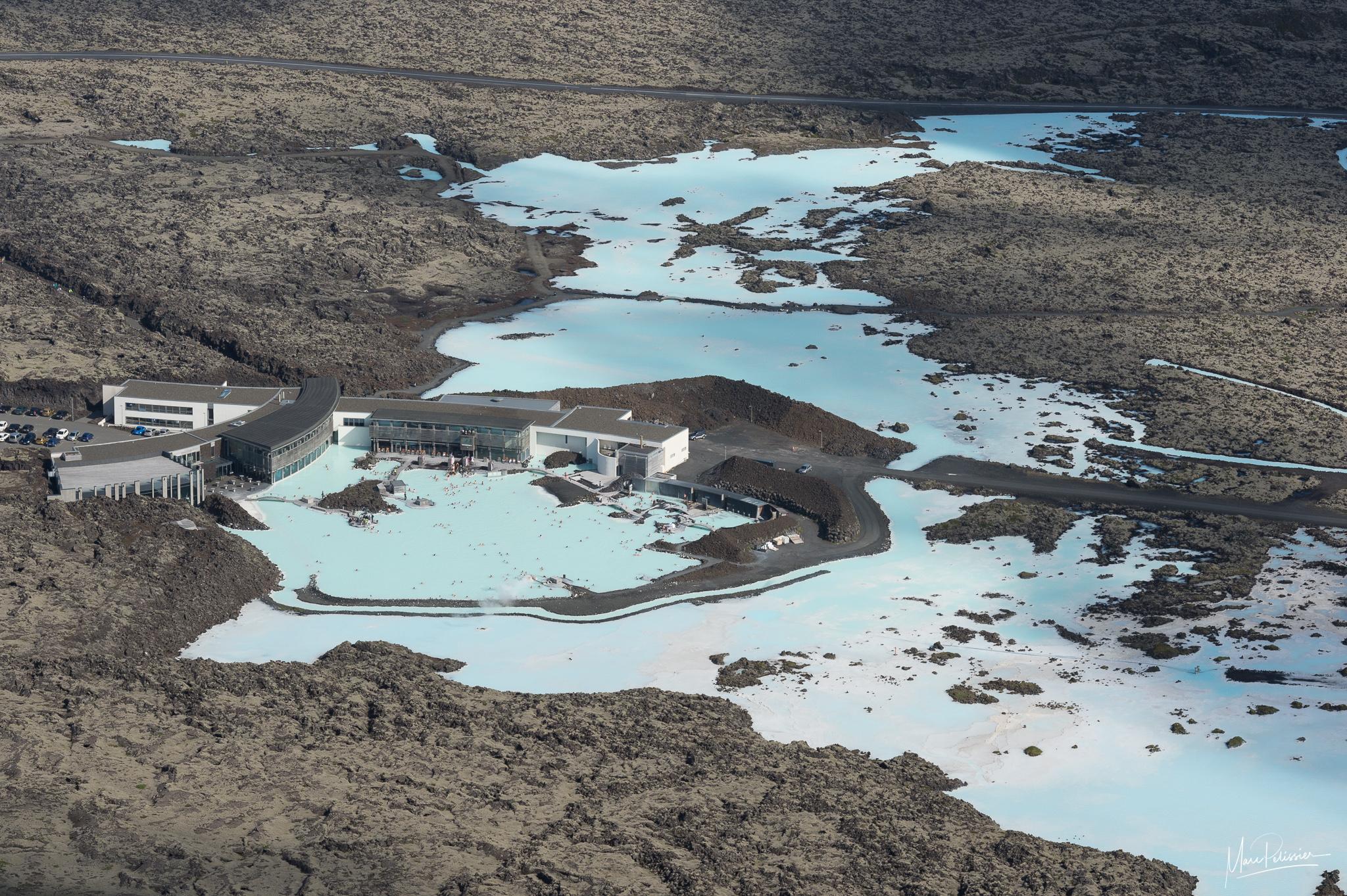 Blue Lagoon Aerial, Iceland