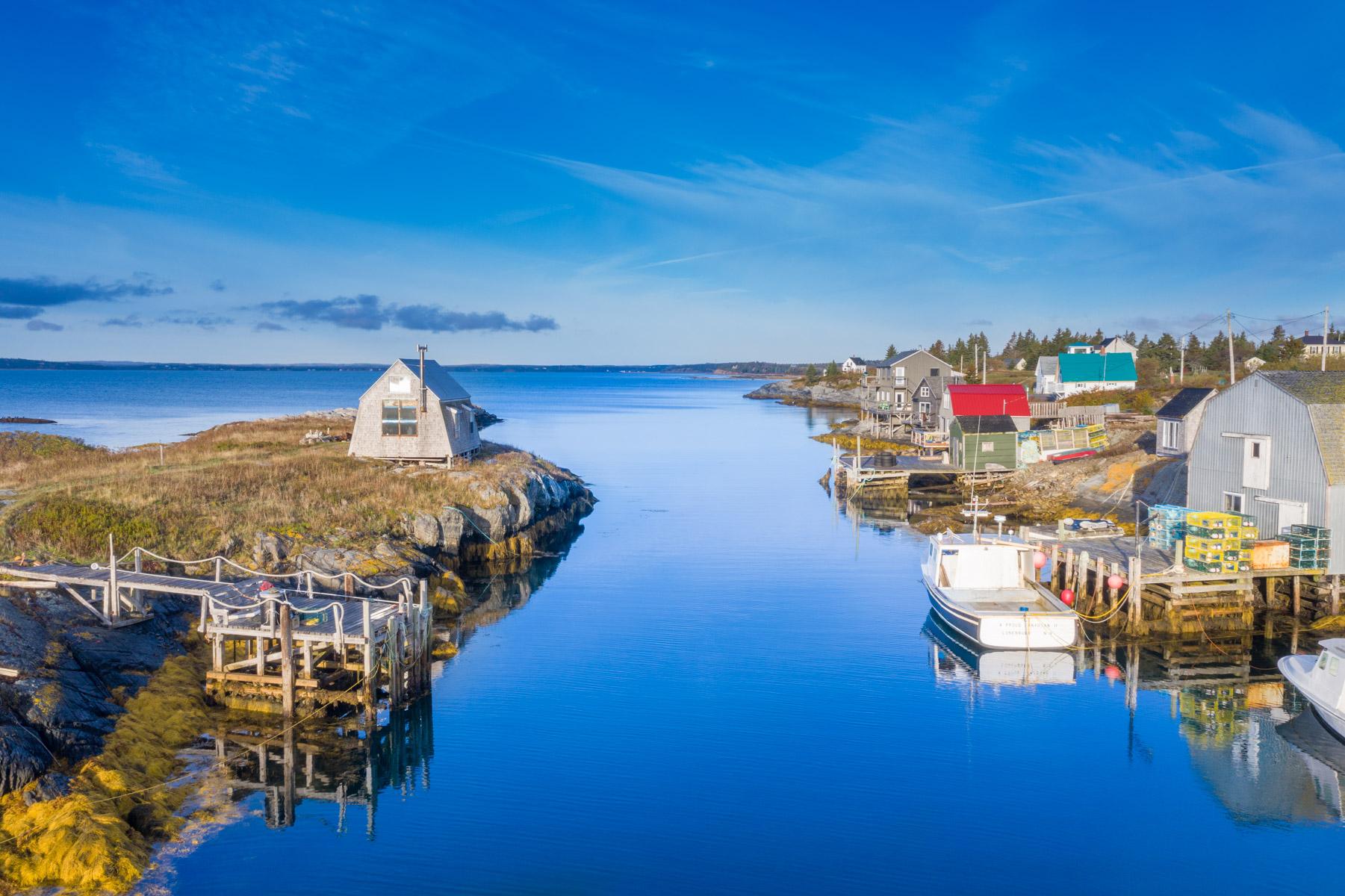 Blue Rocks Island, Blue Rocks Lunenburg, Nova Scotia, Canada