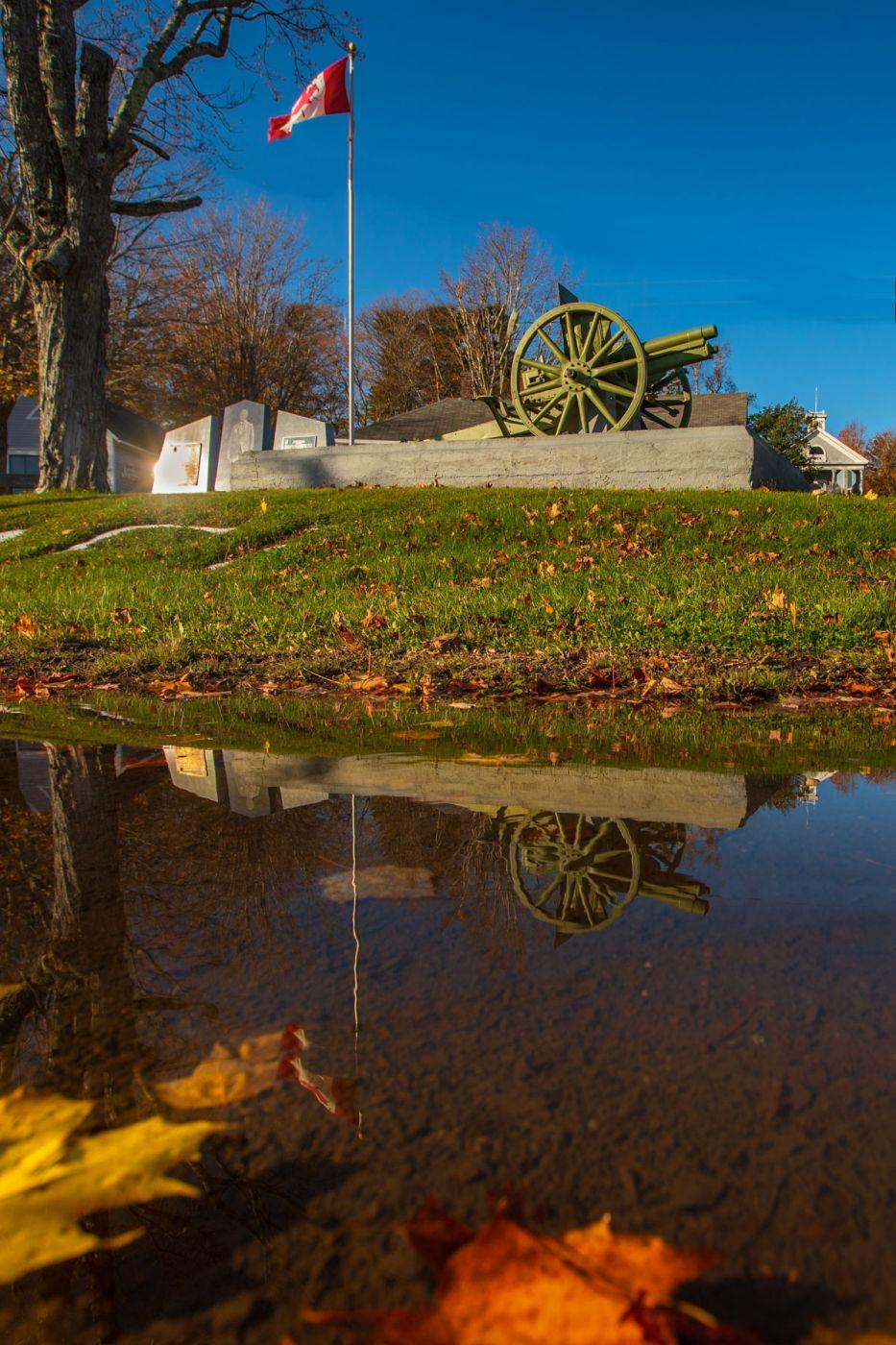 Canon Albert County Museum Hopewell Cape, New Brunswick, Canada