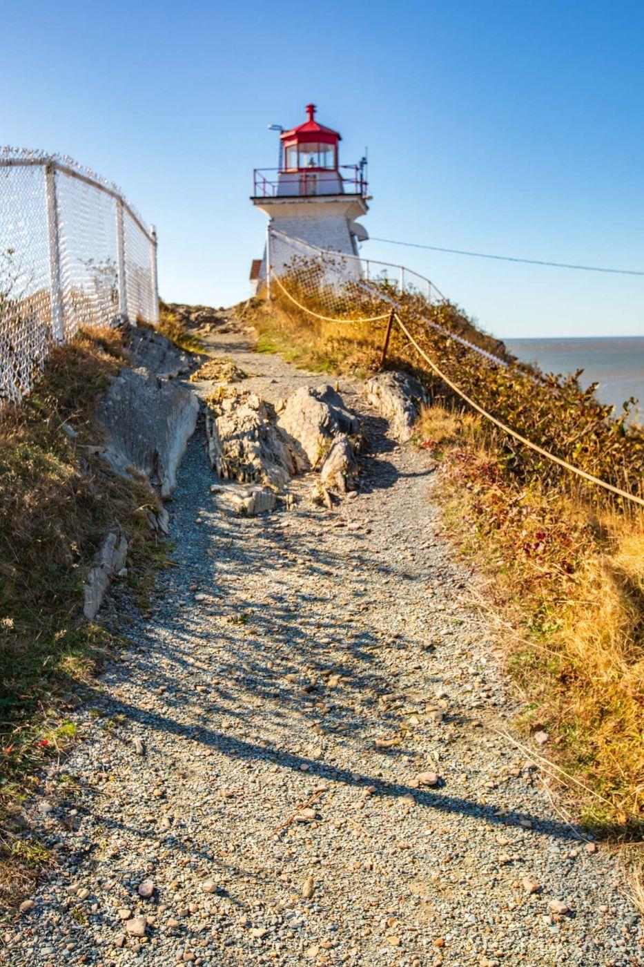 Cape Enrange Lighthouse, New Brunswick, Canada