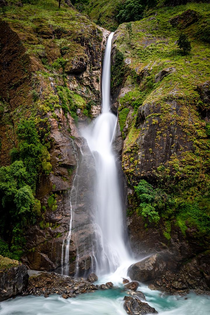Chamche Waterfall, Nepal