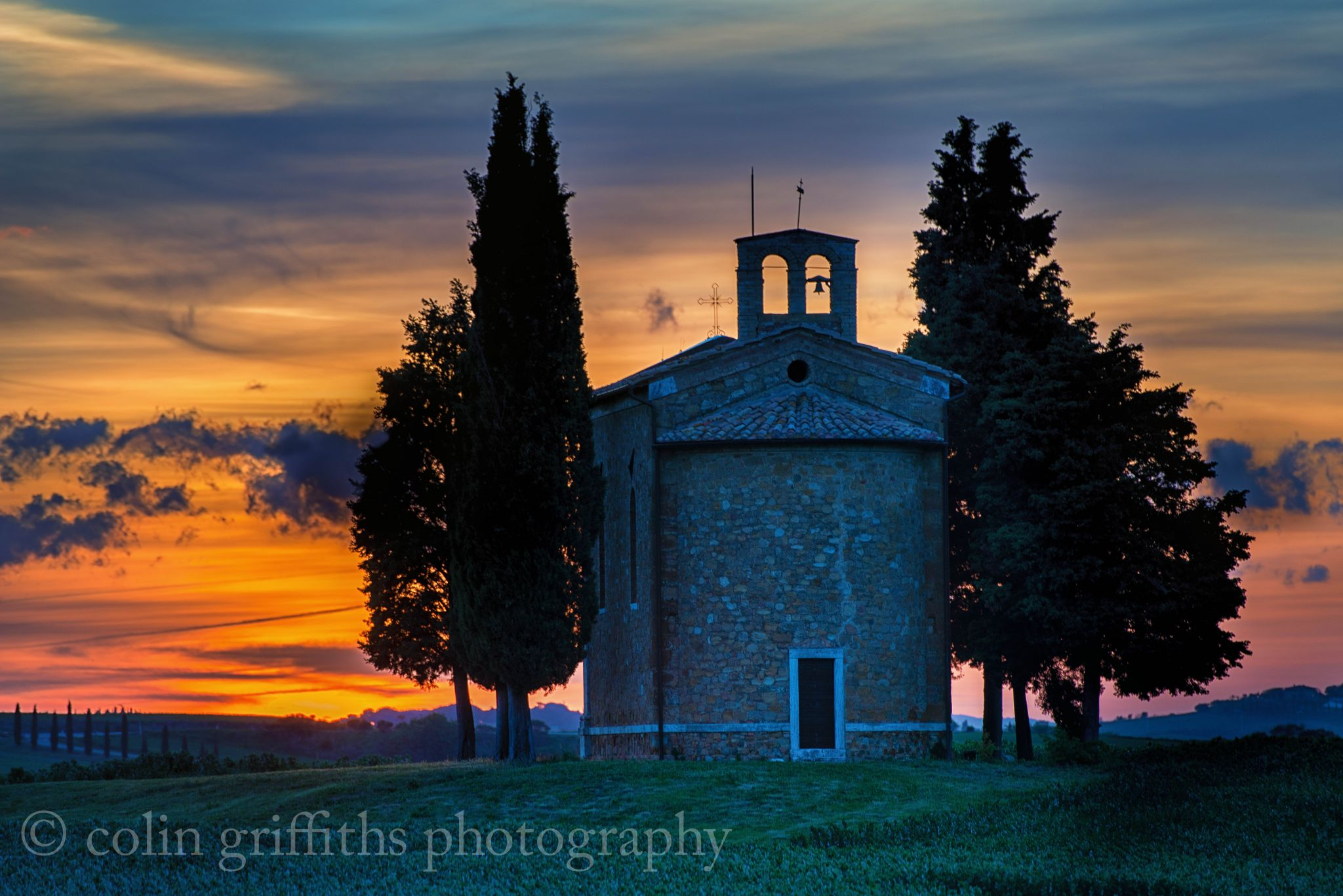 Chapel of the Madonna di Vitaleta, Italy
