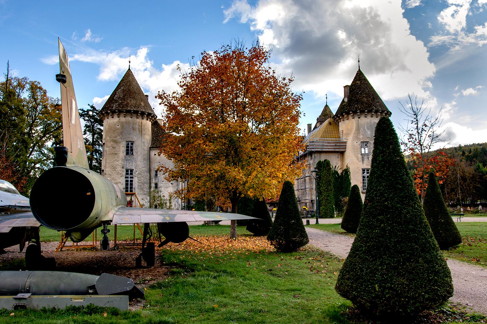 Chateau de Savigny - Fighter Jet Collection, France